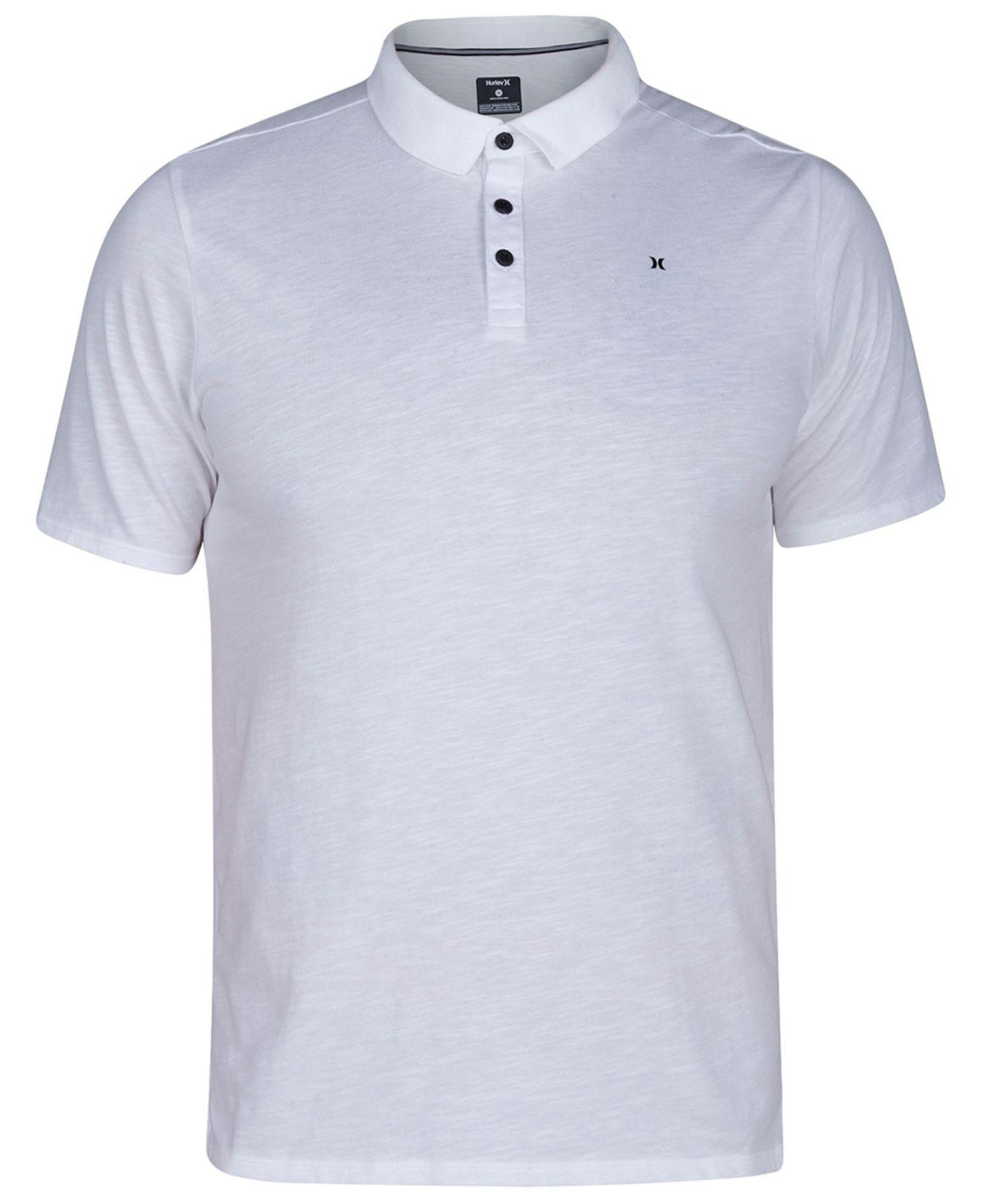 29ff8a01e Lyst Hurley Dri Fit Polo Shirt In White For Men