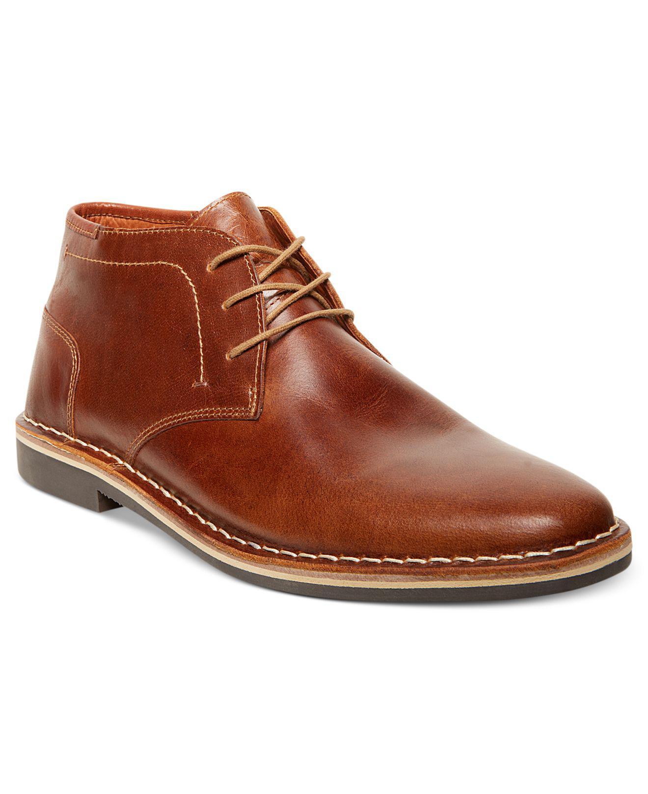 Steve Madden. Men's Black Harken Chukka Boots