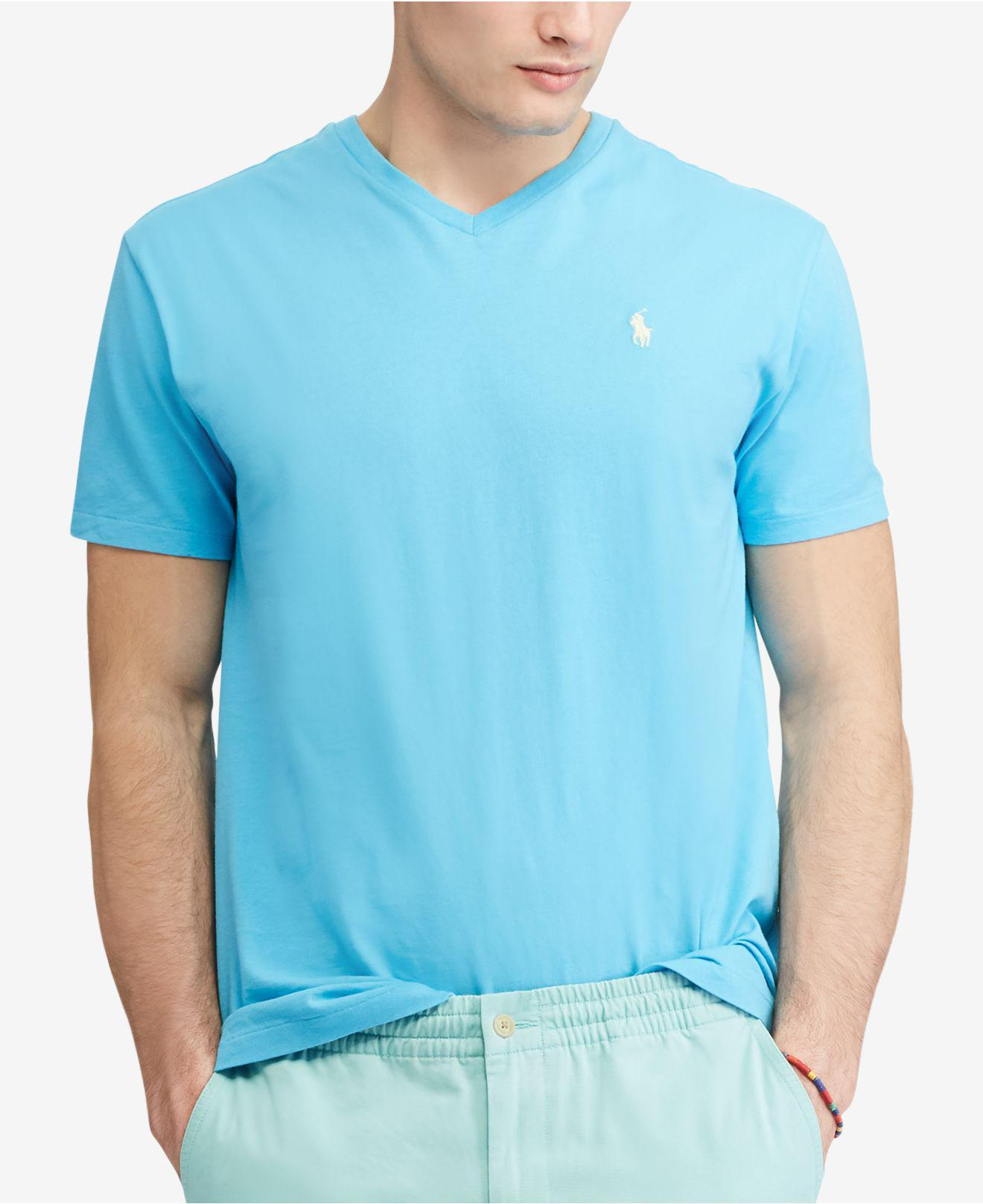 50de9bfcc921 Gallery. Previously sold at  Macy s · Men s Ralph Lauren Classic Men s  Longline T Shirts ...