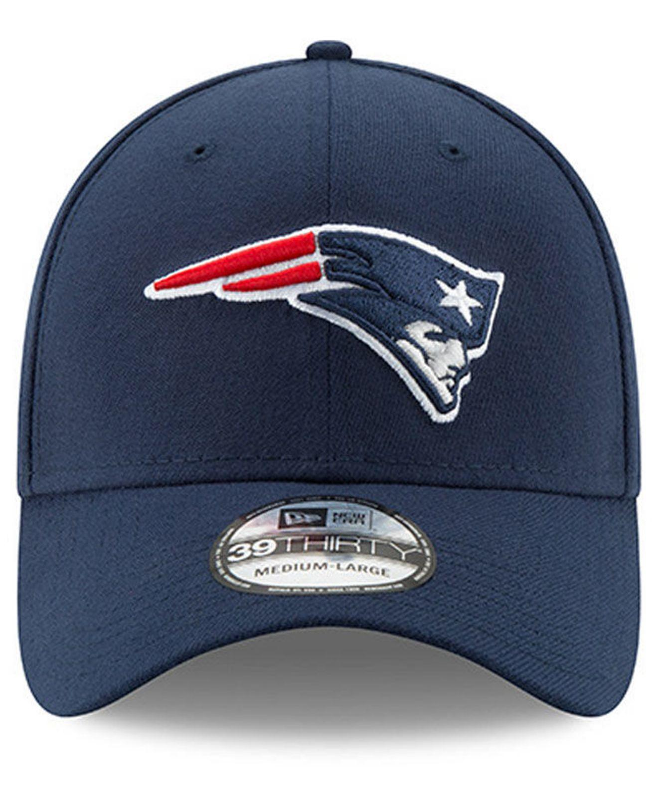 e30ea0a3d4f Lyst - KTZ New England Patriots Super Bowl Liii Team Classic Patch 39thirty  Stretch Fitted Cap in Blue for Men