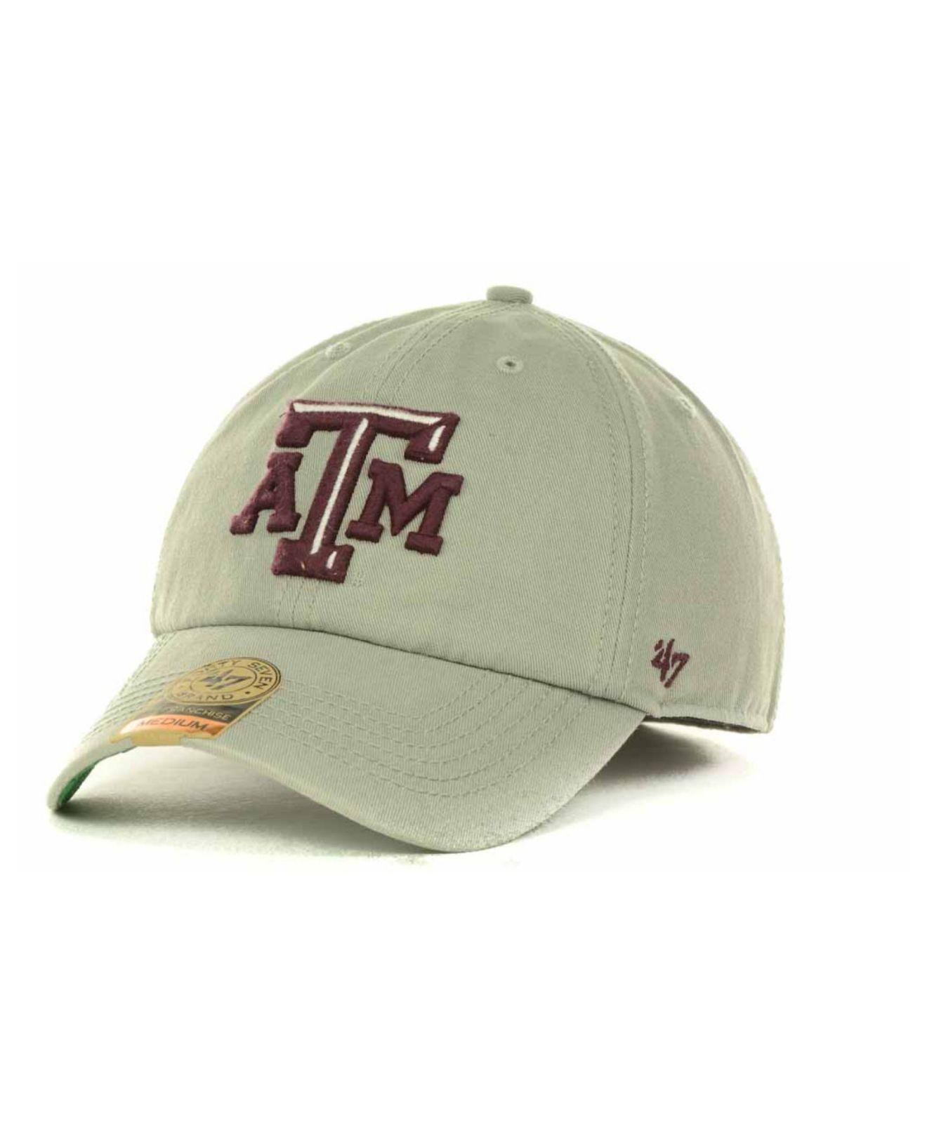 official photos 5933f 16db3 ... discount code for 47 brand. mens gray texas am aggies franchise cap  49649 69ff0