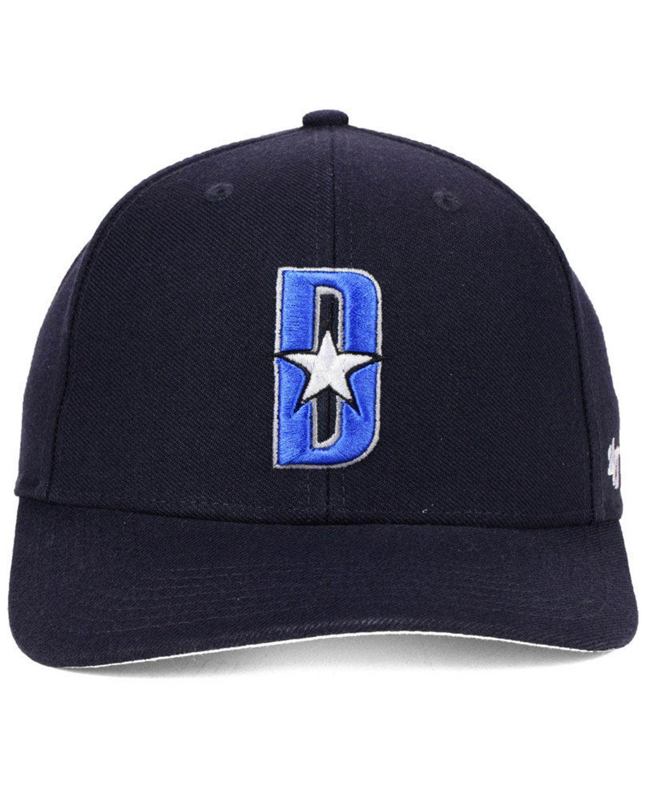the latest cd06a 981a5 ... top quality lyst 47 brand dallas mavericks mash up mvp cap in blue for  men 2bc6f