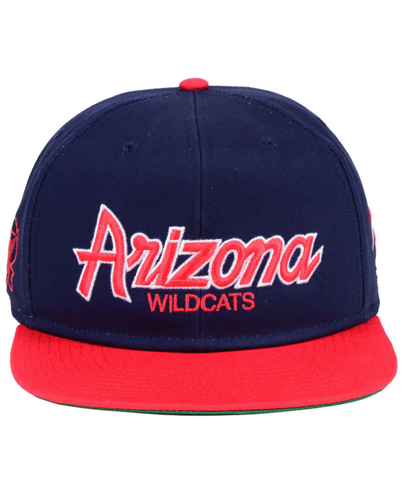 f8ff3078 ... promo code for lyst nike arizona wildcats sport specialties snapback  cap in blue for men aec02