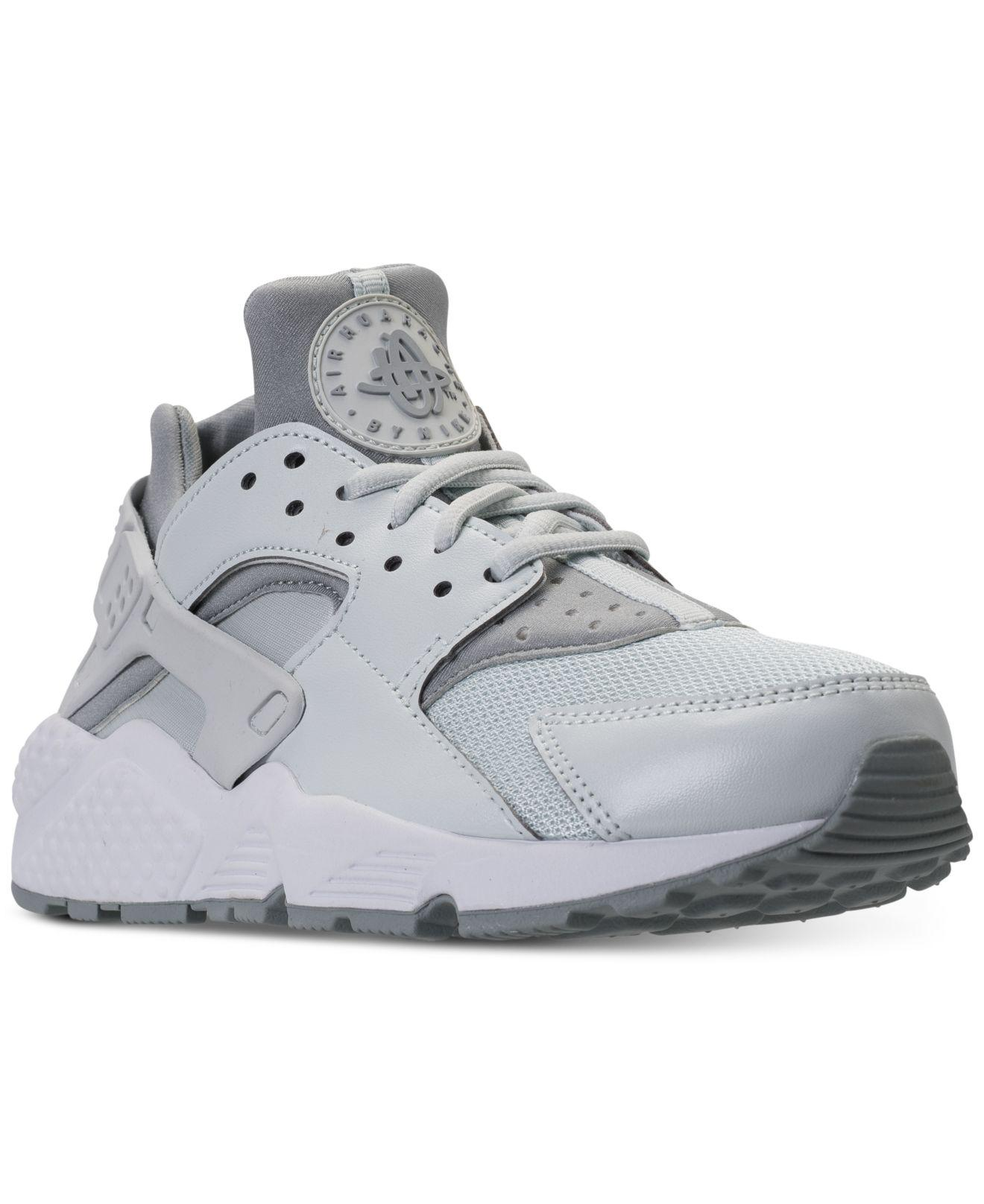 bf5a4c469f2318 Lyst - Nike Air Huarache Run Running Sneakers From Finish Line in Gray