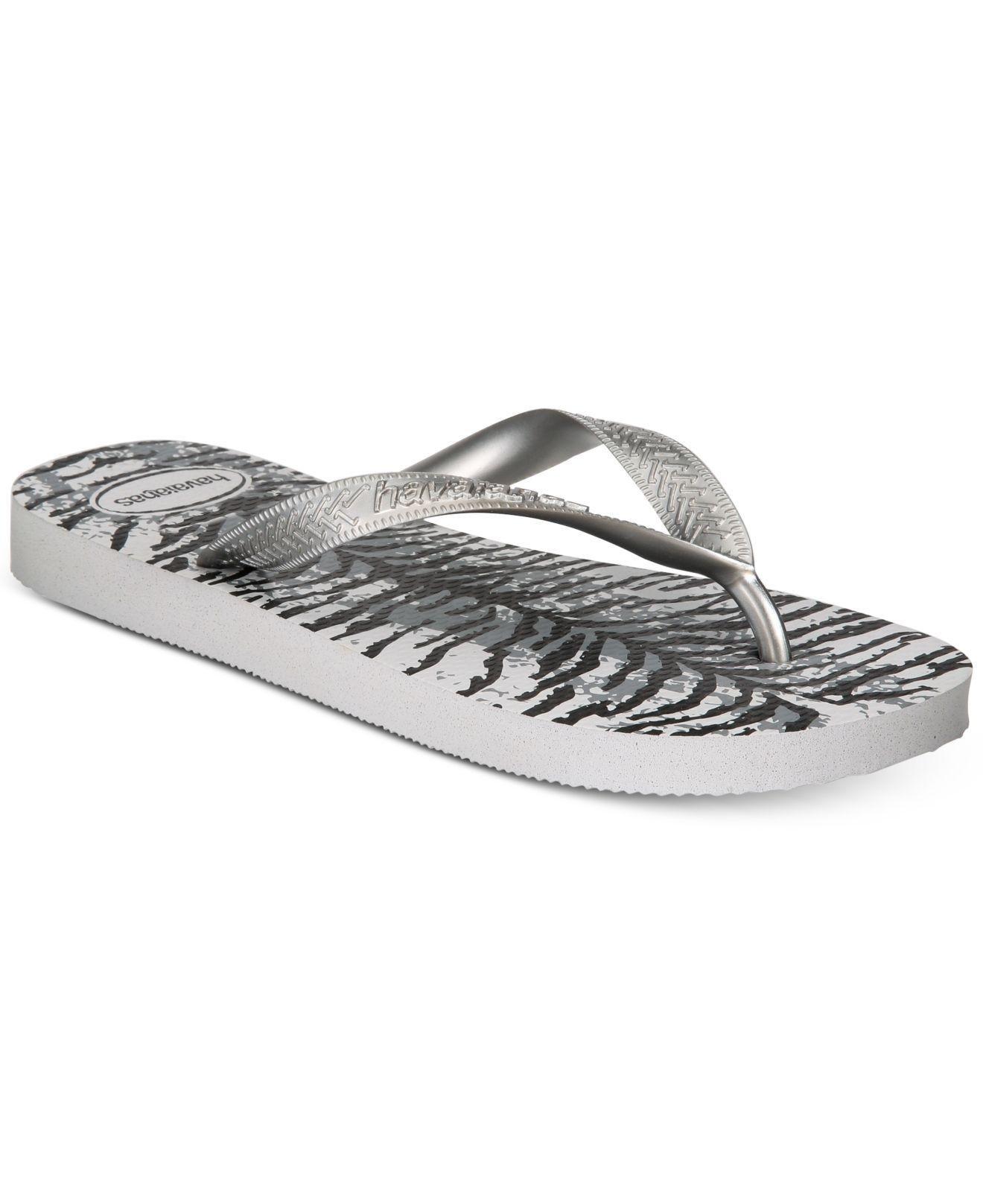 53bafc61f Havaianas. Women s Gray Top Animal Flip-flop Sandals ...