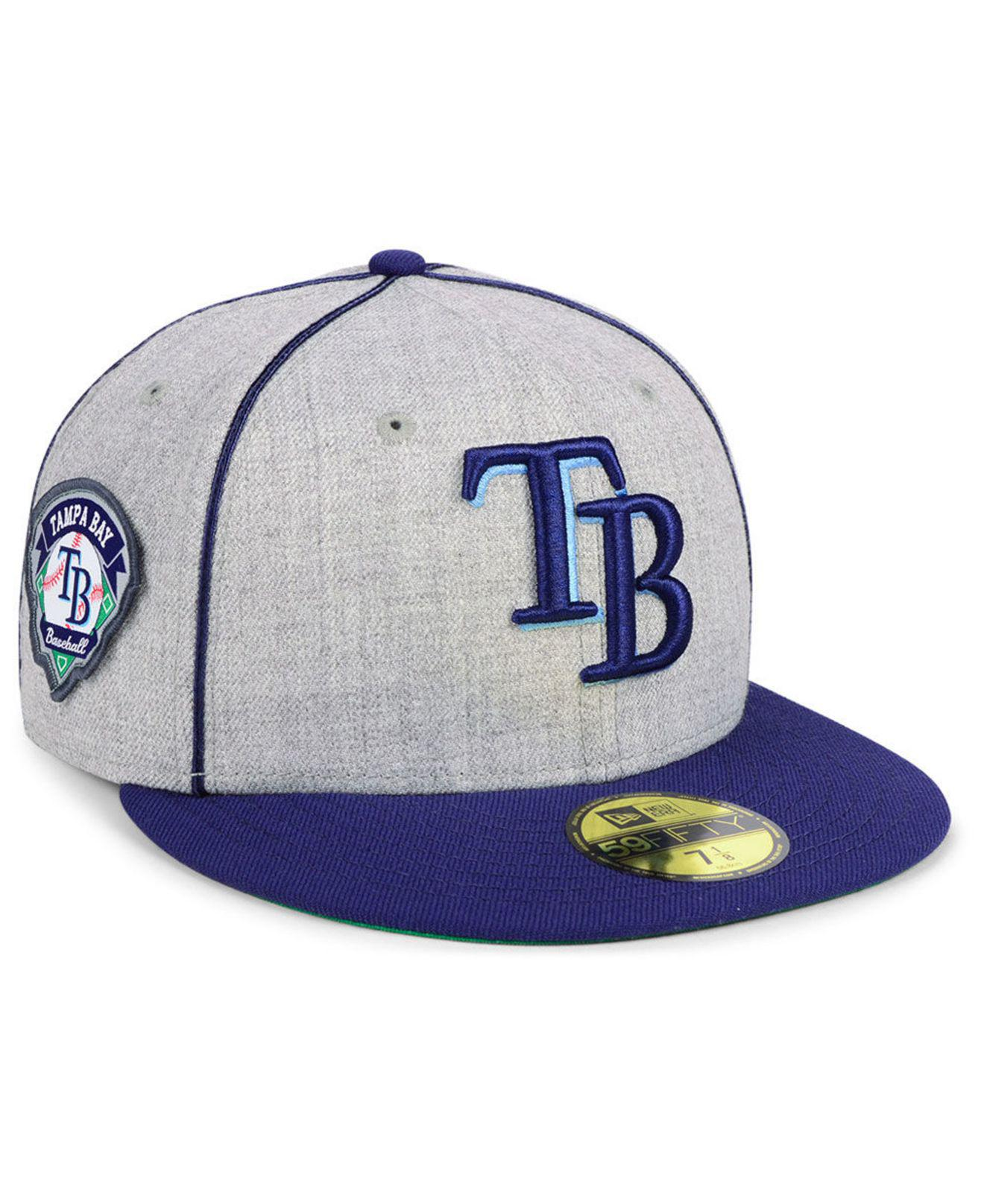on sale 26783 5ab9e KTZ. Men s Tampa Bay Rays Stache 59fifty Fitted Cap