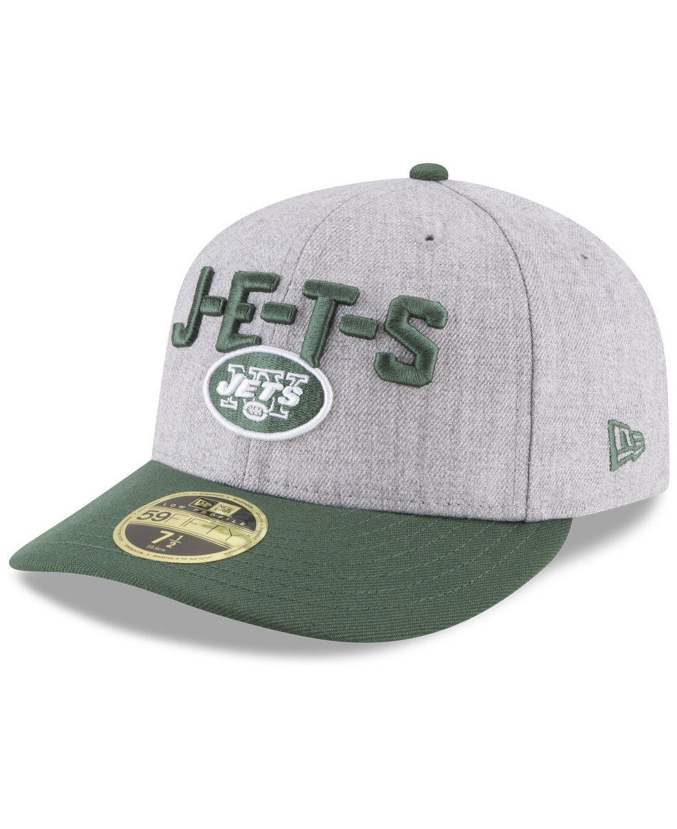 d4ebf841a Lyst - KTZ New York Jets Draft Low Profile 59fifty Fitted Cap for Men