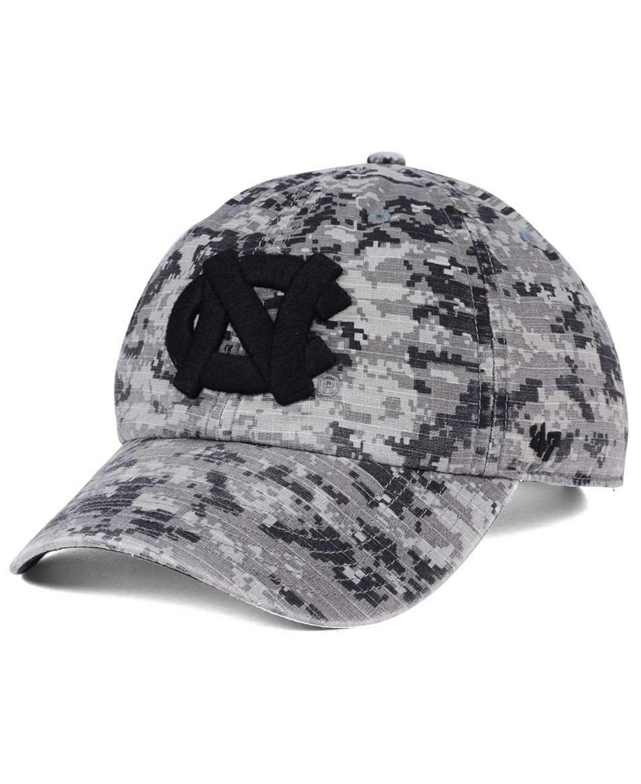 eb45b07a22c6b Lyst - 47 Brand Operation Hat Trick Camo Nilan Cap in Gray for Men