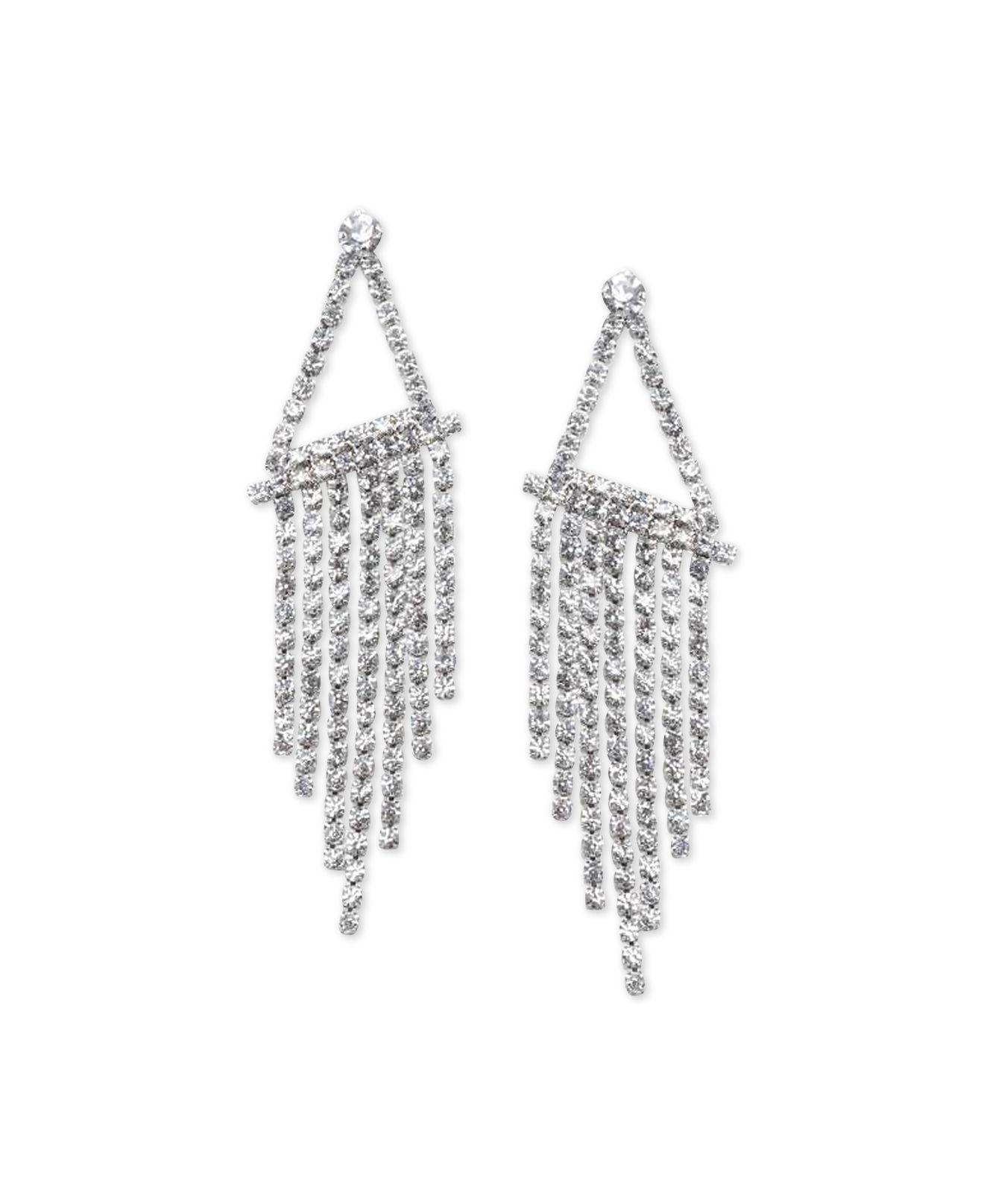 Fragments Lucite & Crystal Chandelier Earrings yrvhX