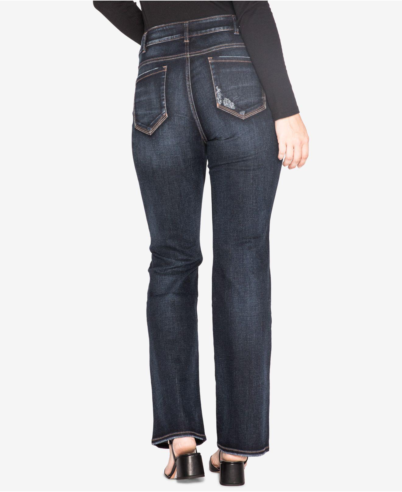 a960deef84f Lyst - Silver Jeans Co. Trendy Plus Size Elyse Slim Bootcut Jeans ...