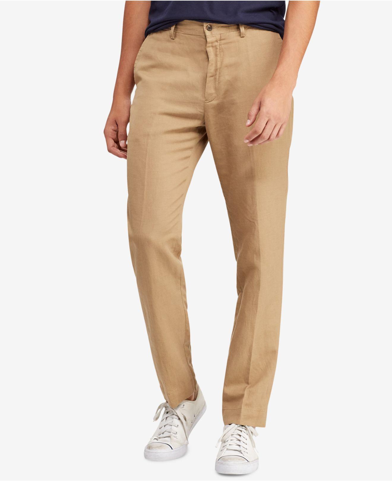 e889ec3db Lyst - Polo Ralph Lauren Newport Classic Fit Pants in Natural for Men