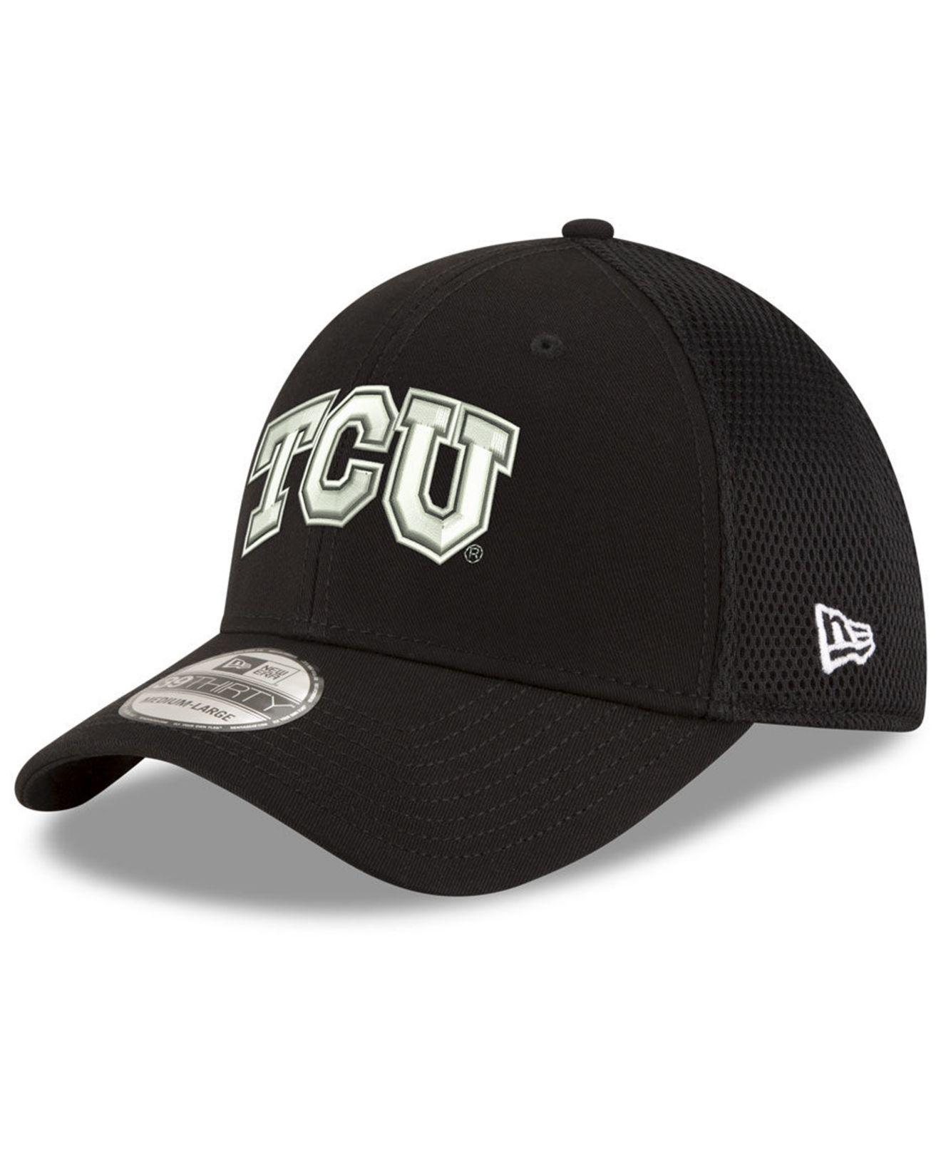 official photos e9a8b 5c778 ... best price purchase ktz texas christian horned frogs black white neo  39thirty cap for men lyst