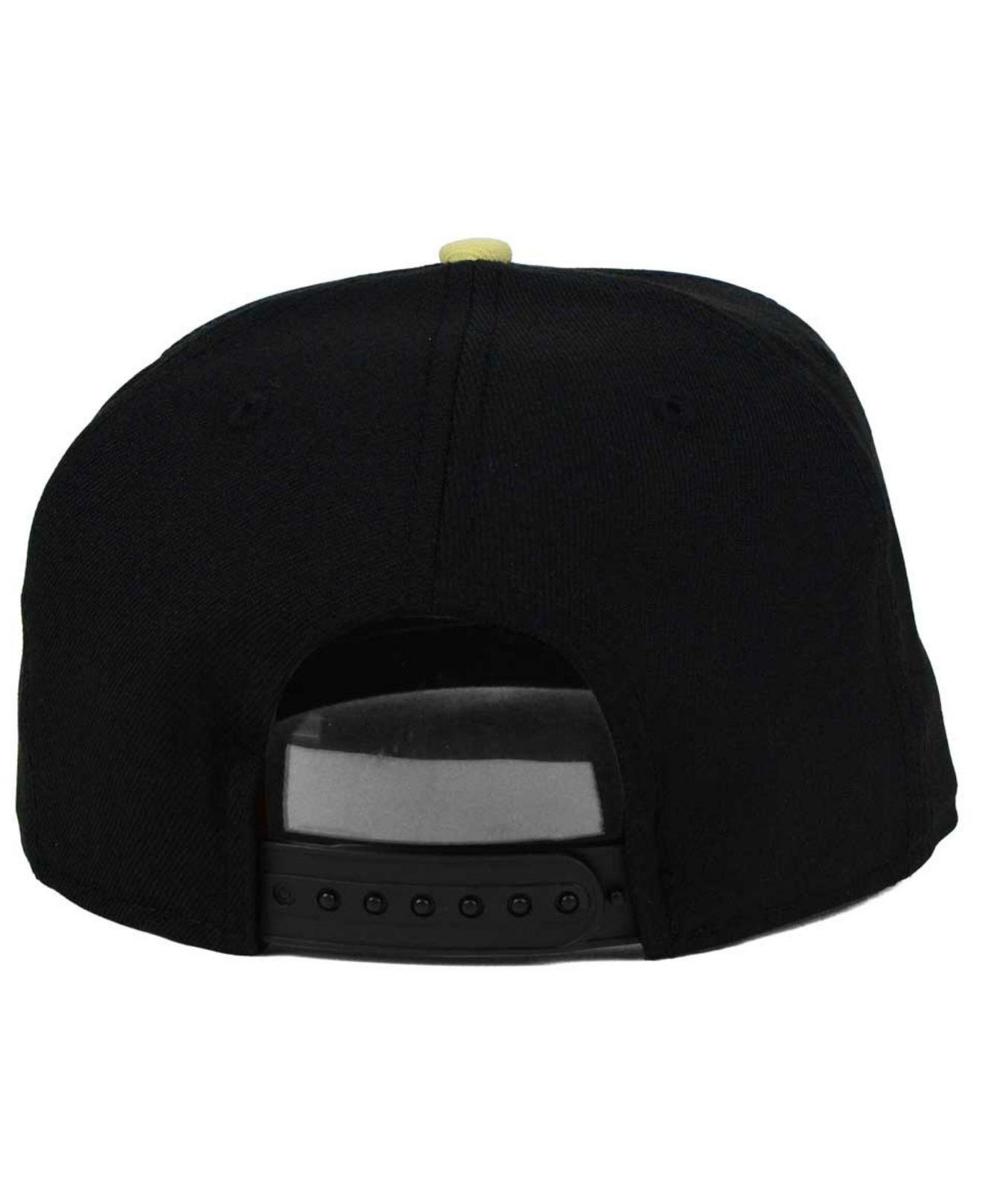 17f8b0ea6b5 Lyst - Ktz Ucf Knights Core 9fifty Snapback Cap in Black for Men