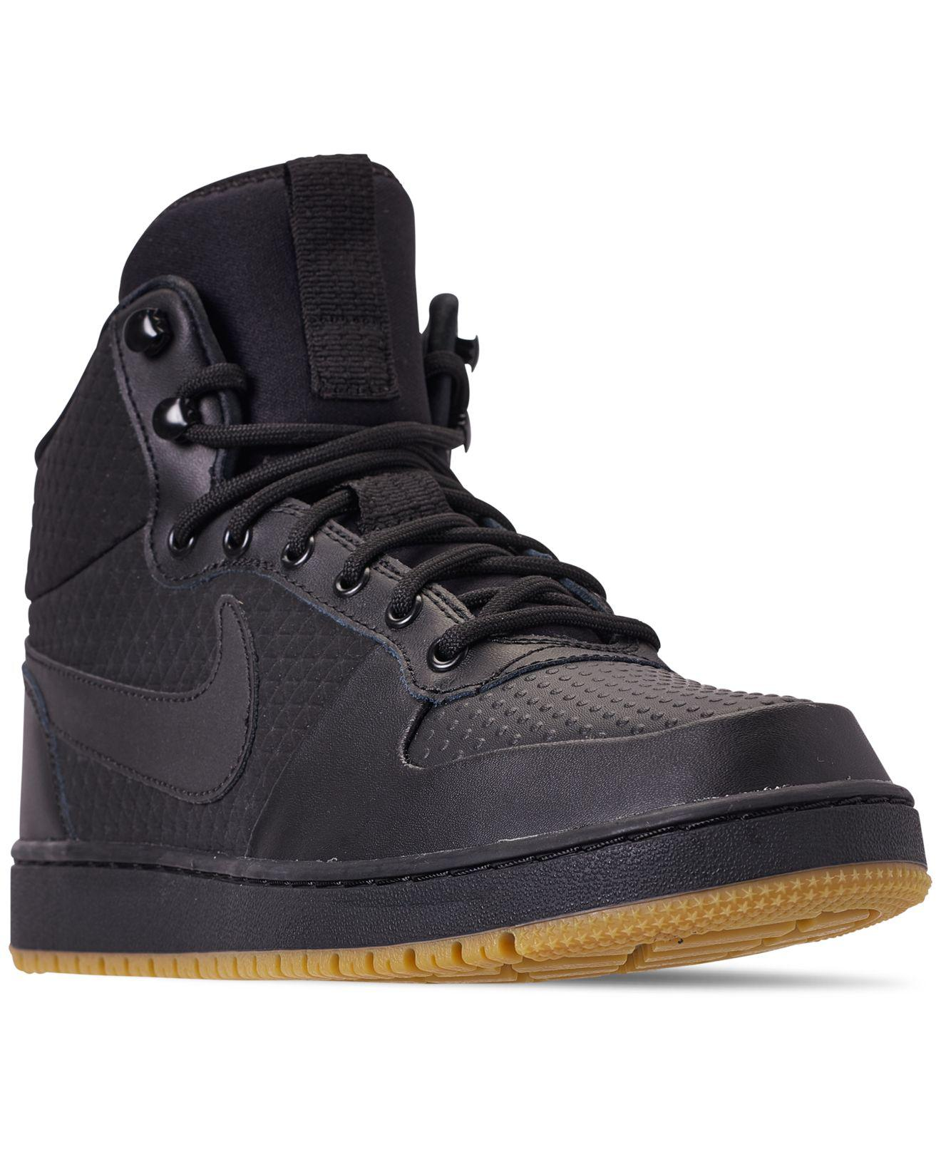 df0460c1f2b7 Lyst - Nike Ebernon Mid Winter Casual Sneakers From Finish Line in ...