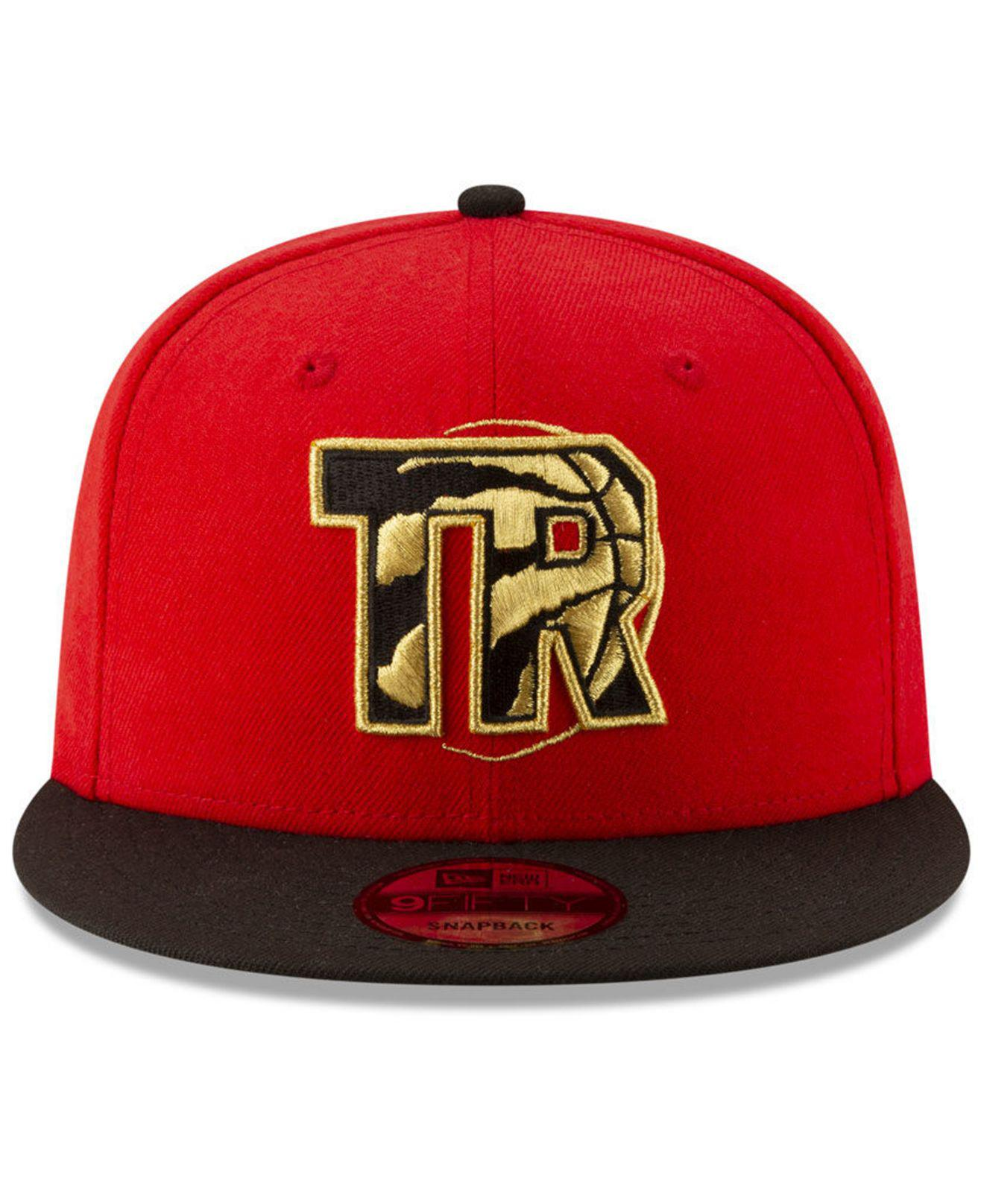 premium selection 676ba b1a62 ... greece lyst ktz toronto raptors light city combo 9fifty snapback cap in  red for men 0fe01