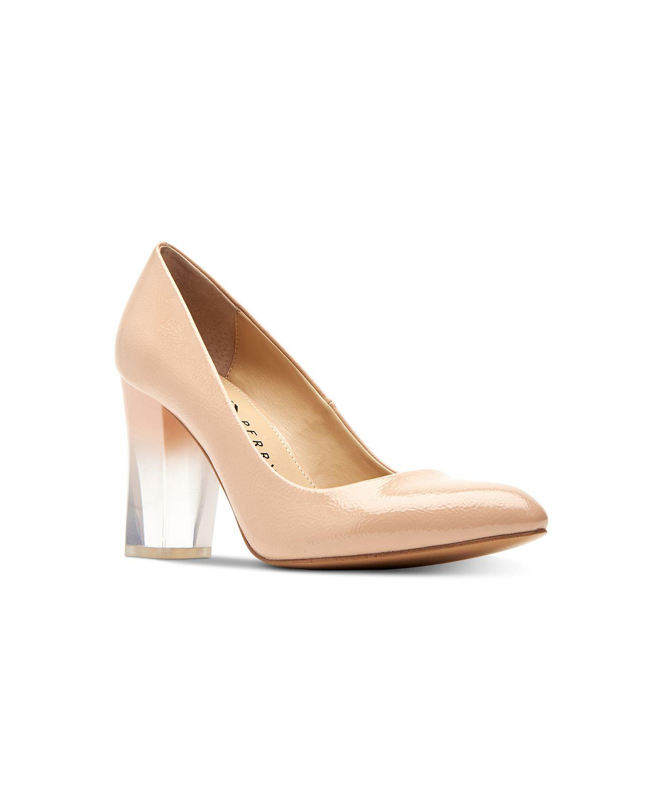 aa3756a0e1 Katy Perry The A.w. Ombré-lucite Pumps in Natural - Save 17% - Lyst