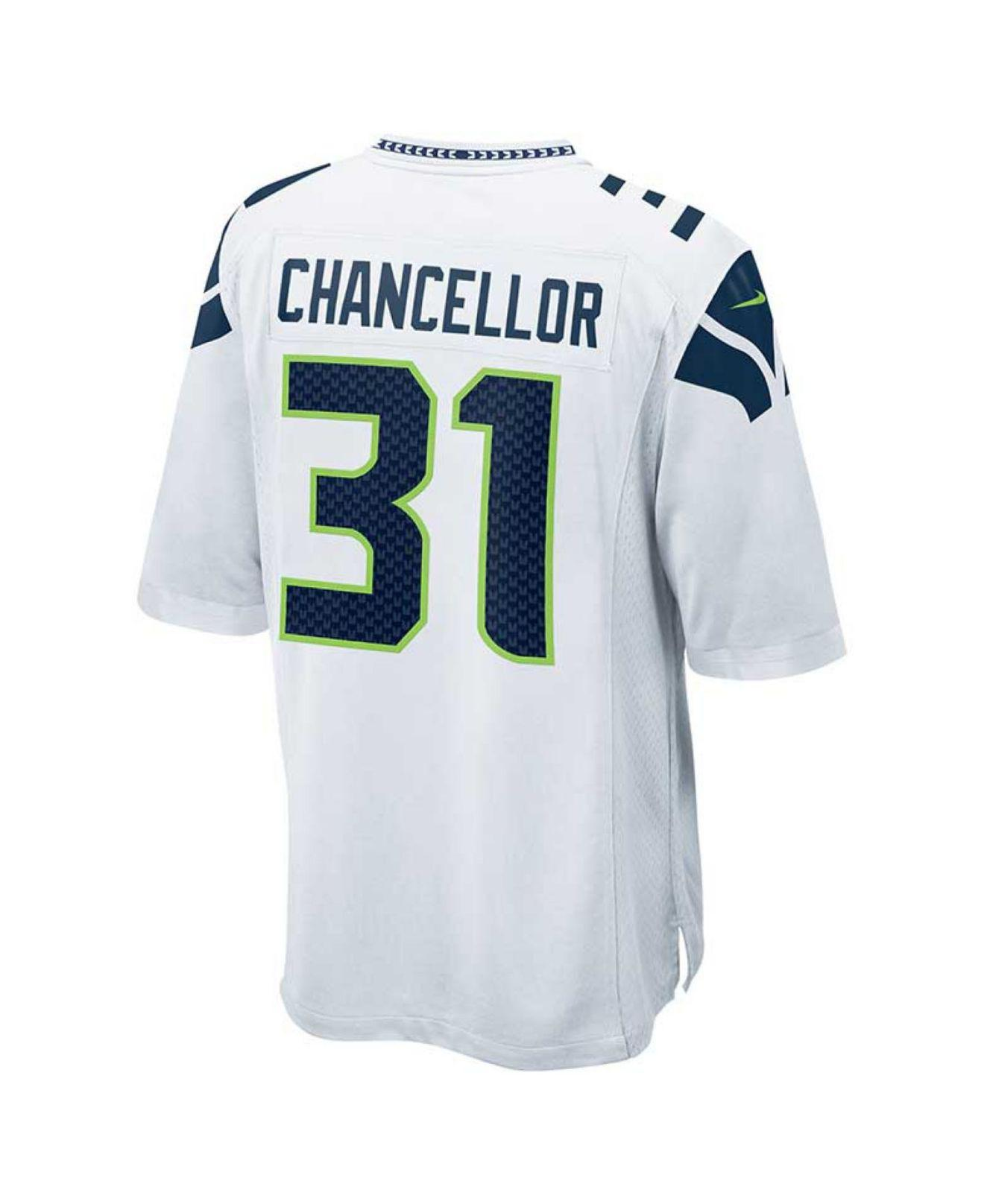 Lyst - Nike Men s Kam Chancellor Seattle Seahawks Game Jersey in ... 4195ed857