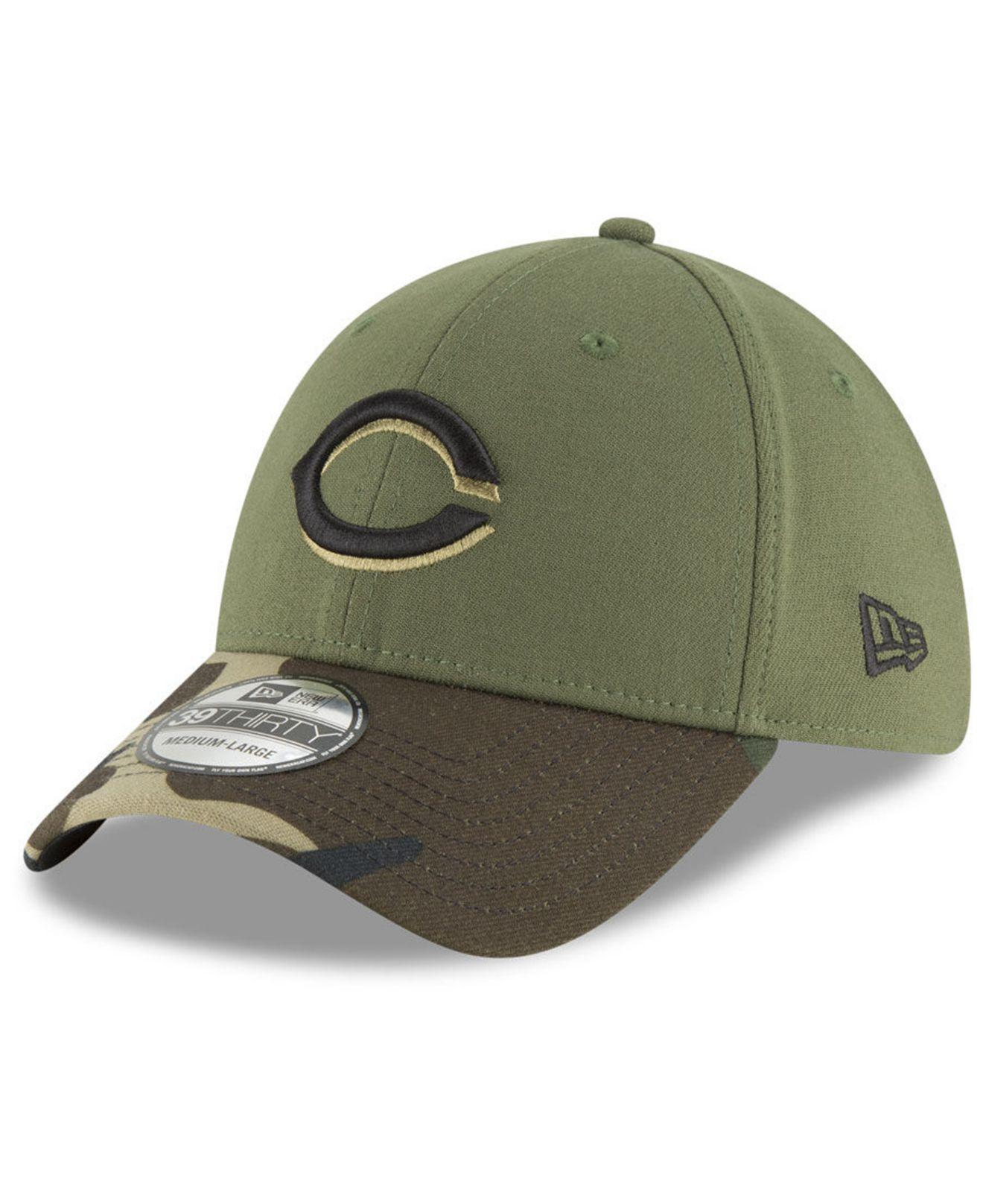 Lyst - KTZ Cincinnati Reds Team Classic 39thirty Cap in Green for Men 3c84edc464f0