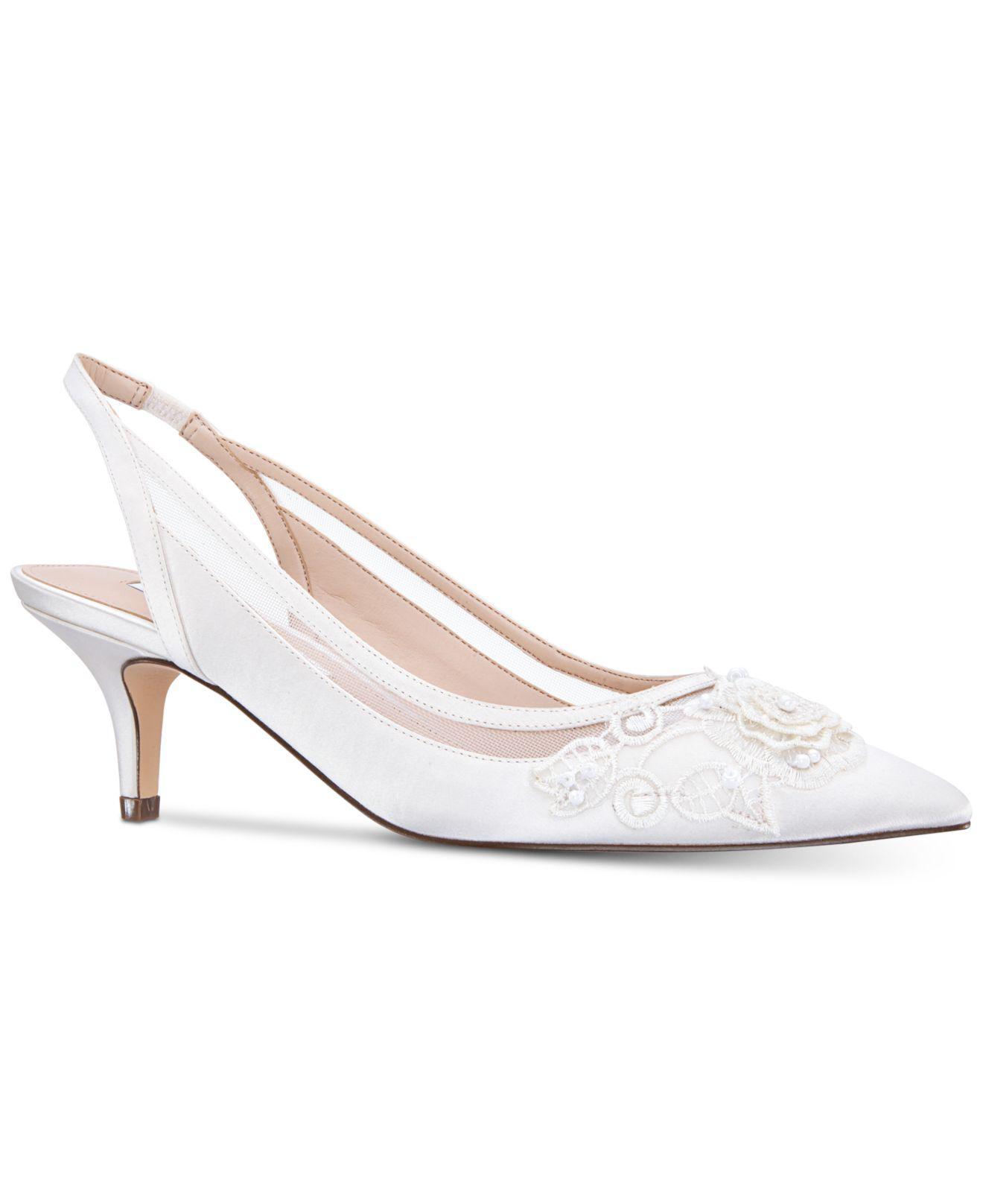 2f0c0bf0e310 Lyst - Nina Taela Evening Sandals in White