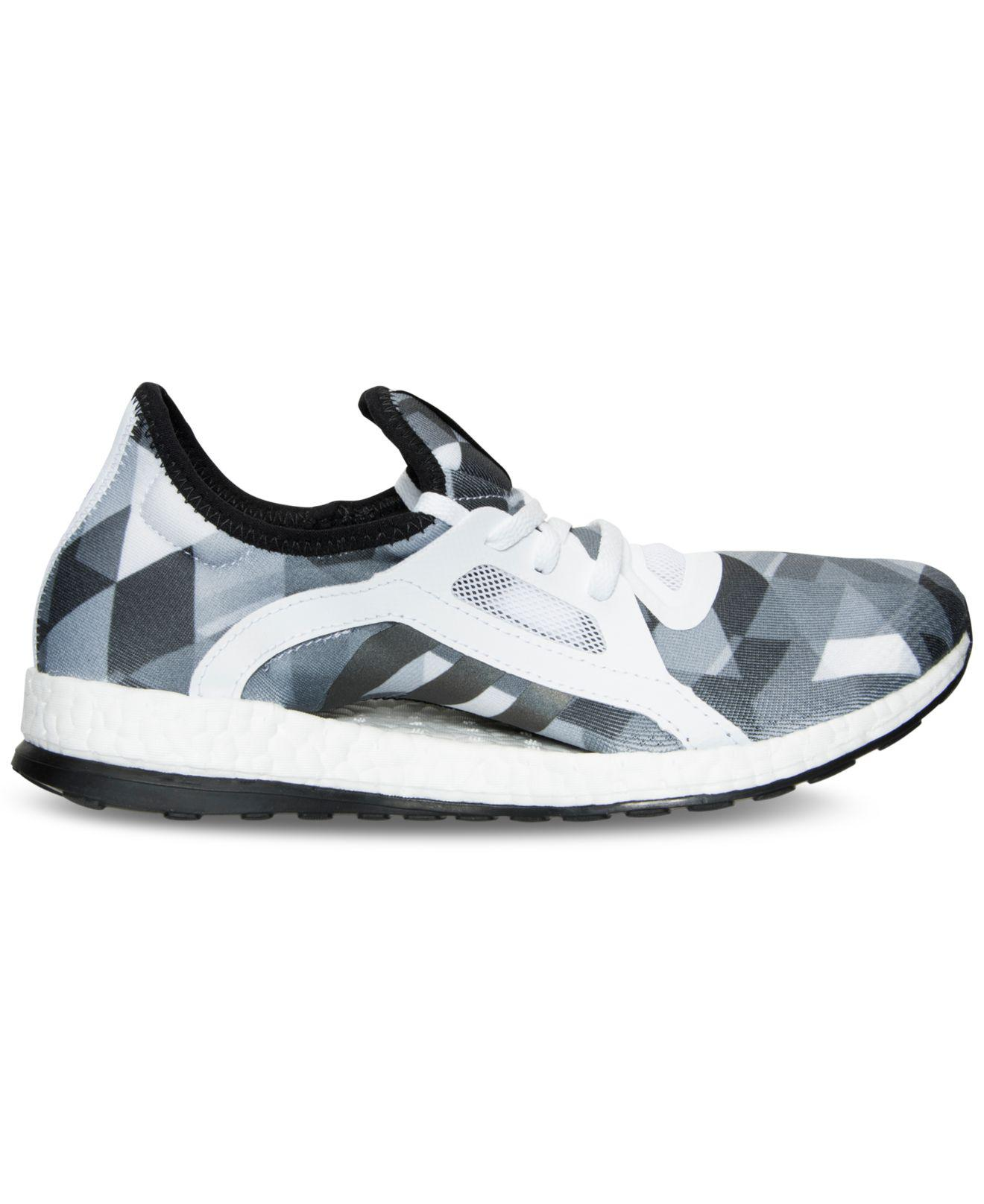 dd0cc7ca05652 ... greece lyst adidas pure boost x running sneakers from finish line ad0df  b3d94