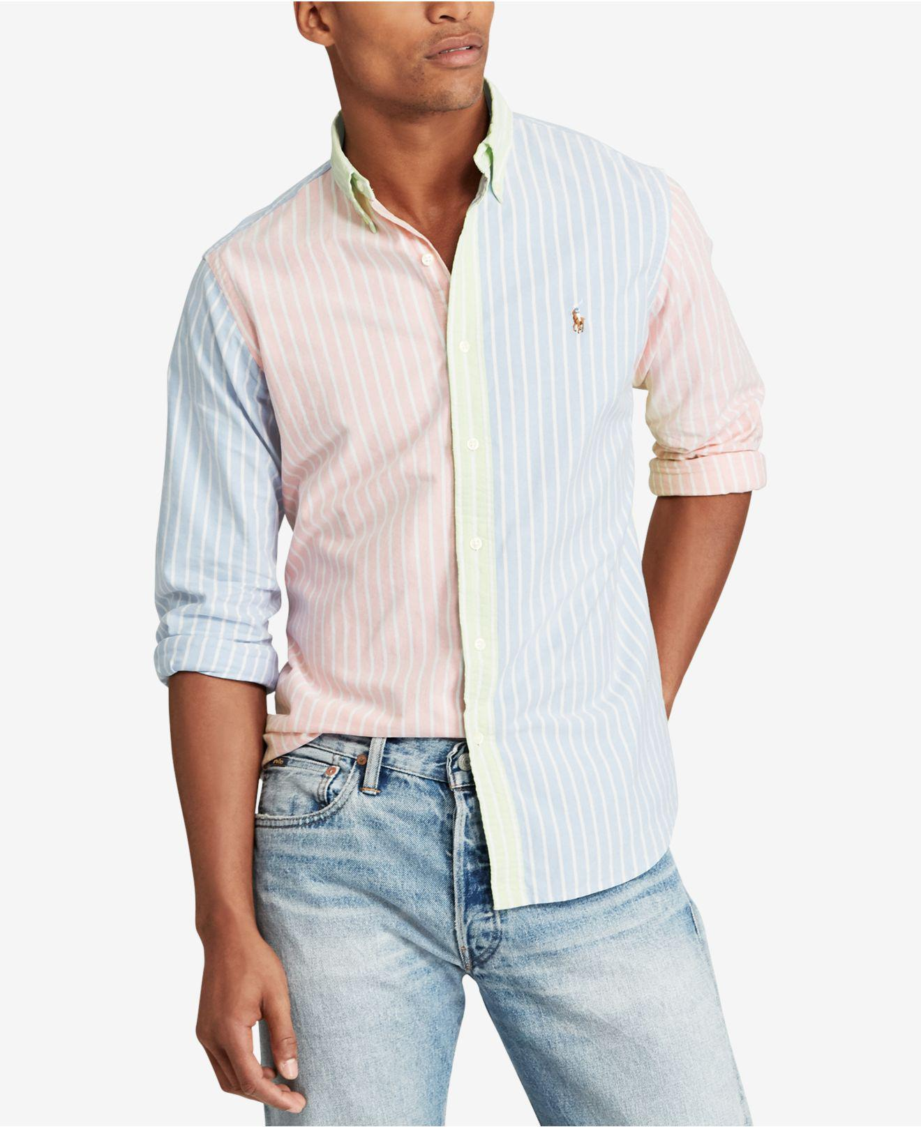 Lyst Polo Ralph Lauren Iconic Oxford Shirt For Men