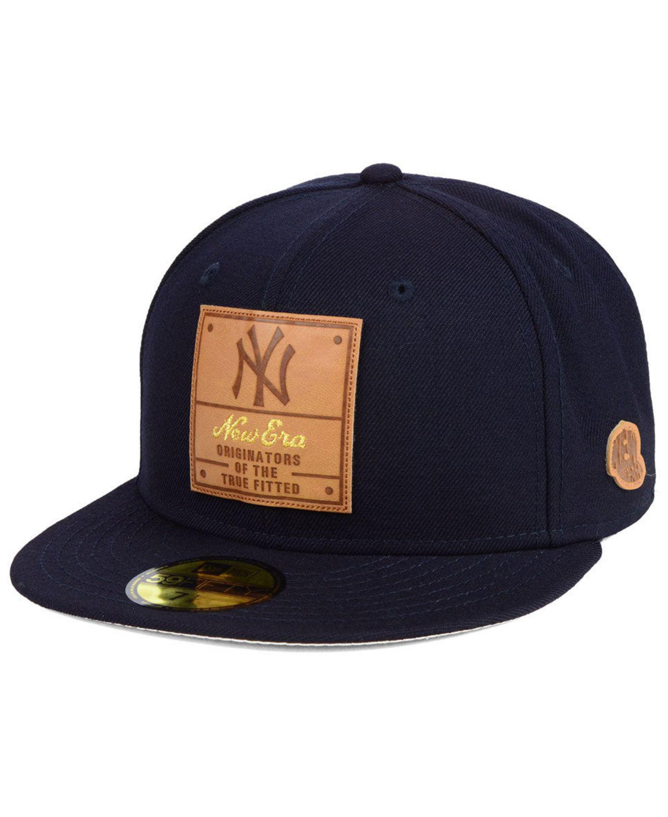 ab91aff9f71 Lyst - KTZ New York Yankees Vintage Team Color 59fifty Fitted Cap in ...