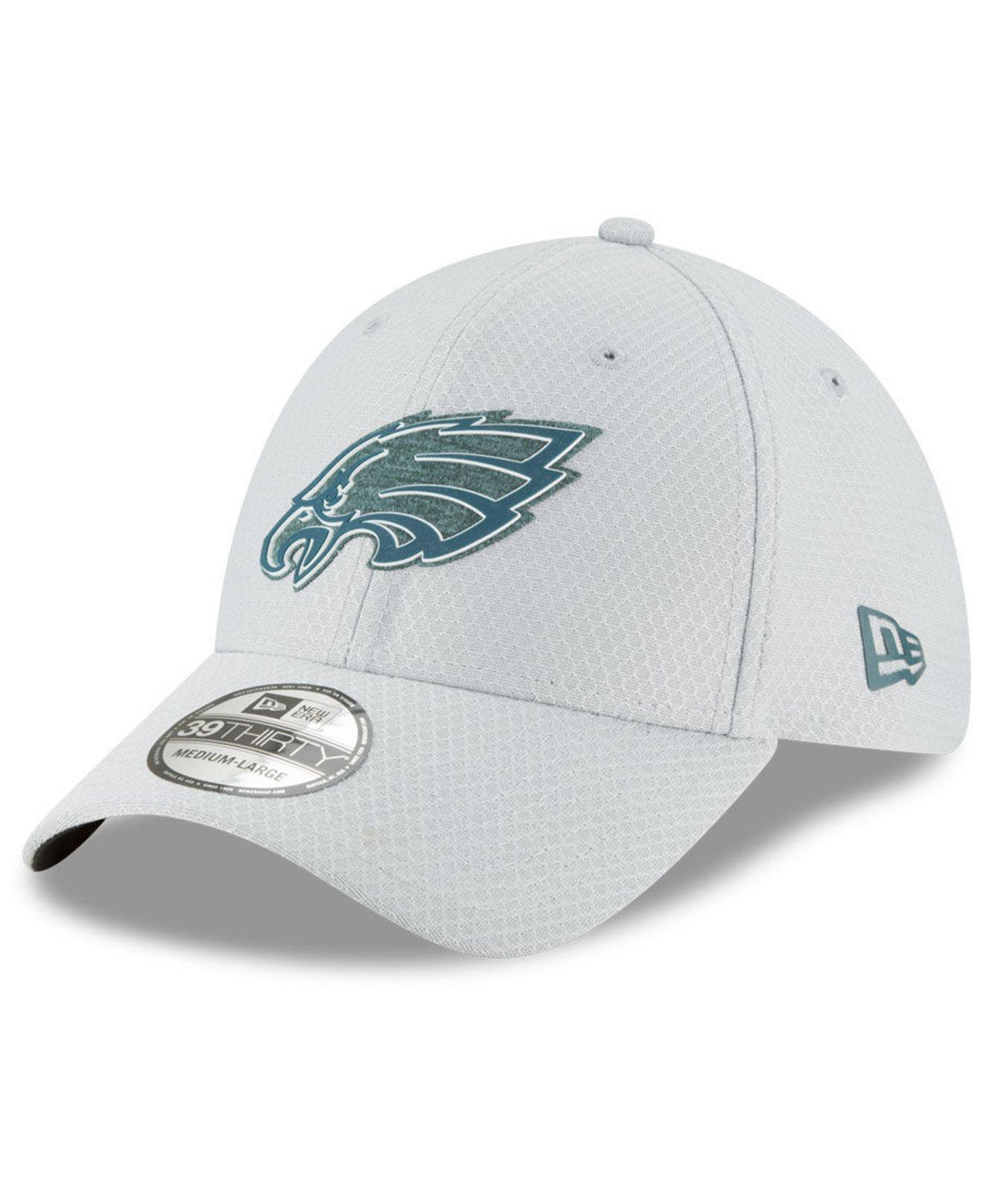 d4b0f6447 Lyst - KTZ Philadelphia Eagles Training 39thirty Cap in Gray for Men
