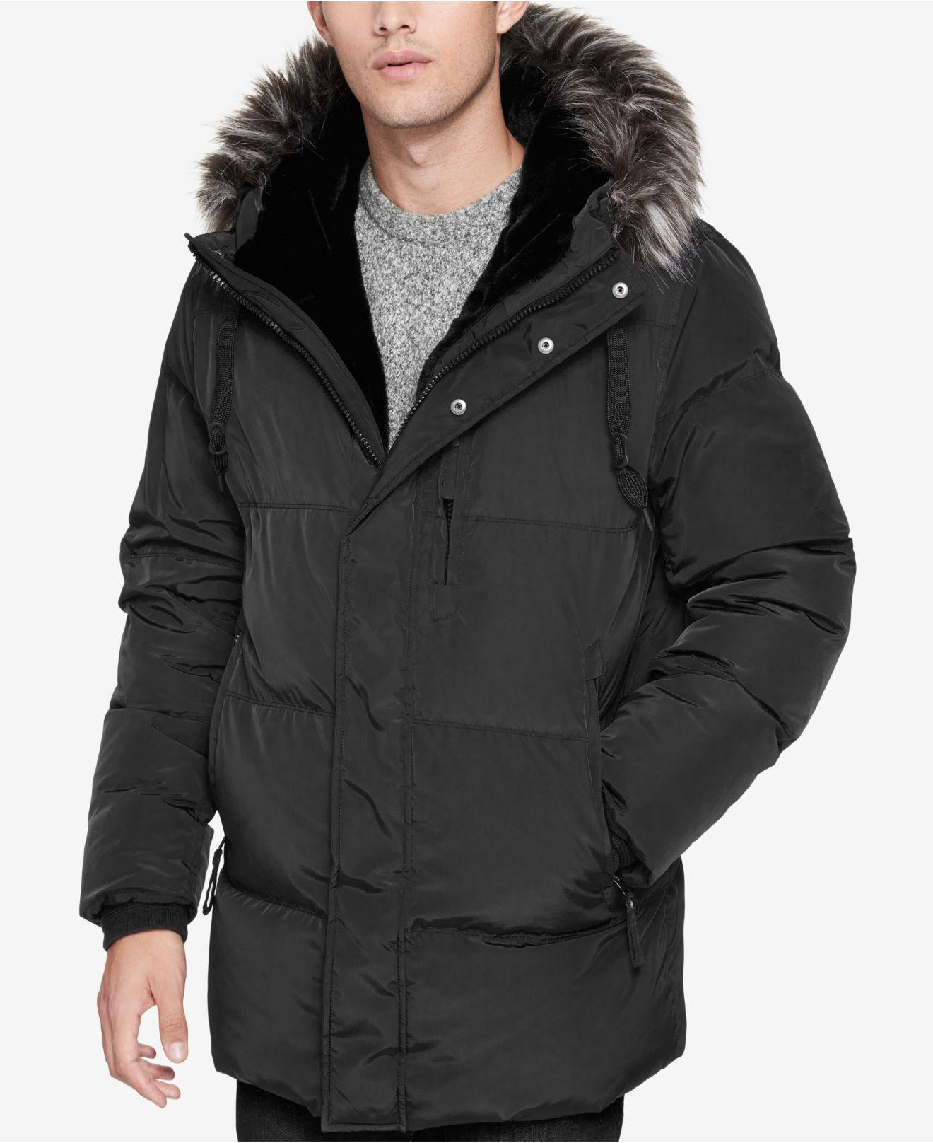 Lyst Marc New York Men S Glasnevin Quilted Parka With