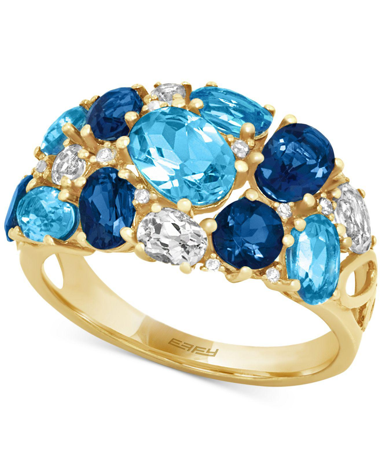 Effy Collection Blue Topaz (4-3/4 Ct. T.w.) And