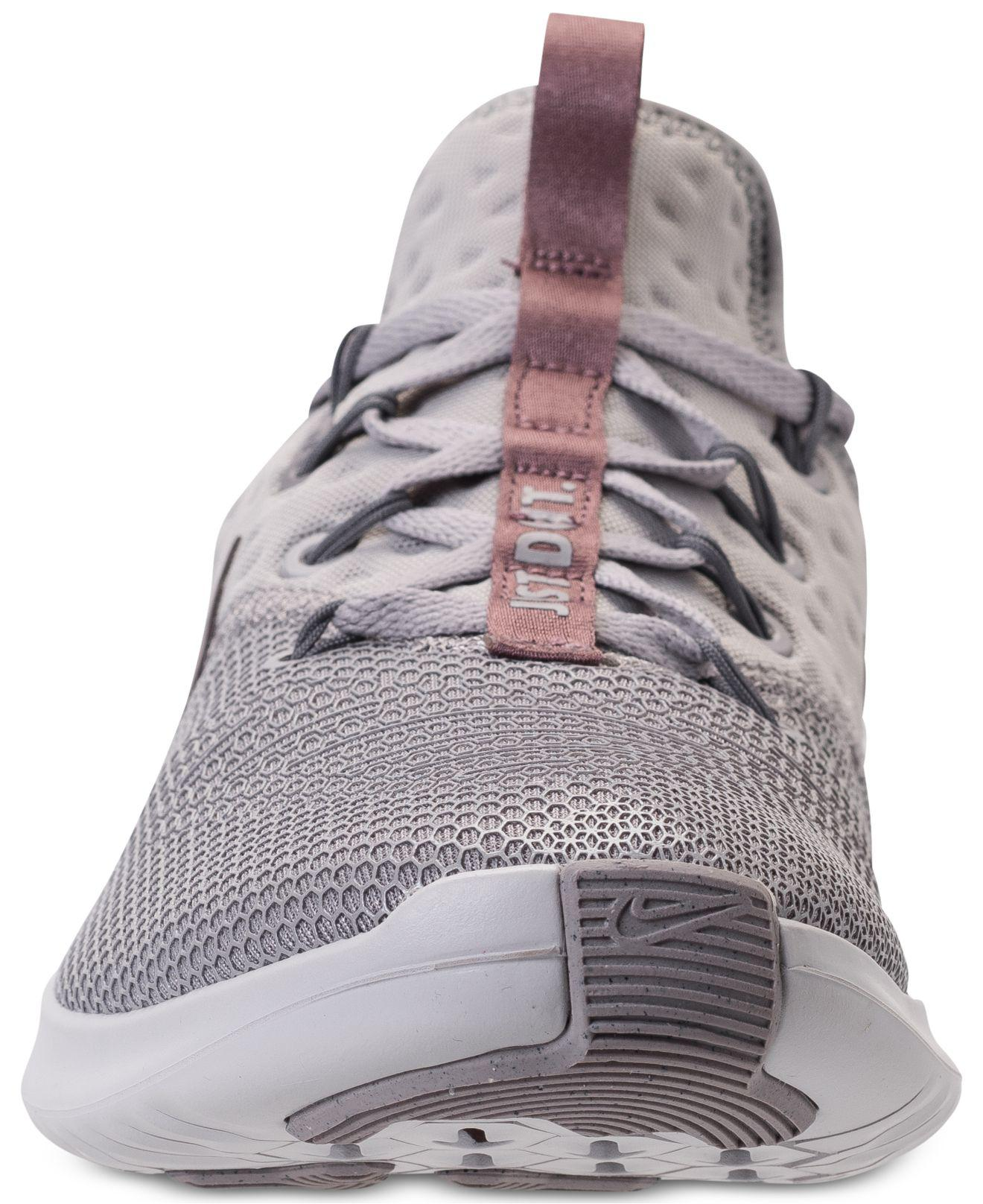 46538a0f9f177 Lyst - Nike Free Tr 8 Lm Training Sneakers From Finish Line in Gray