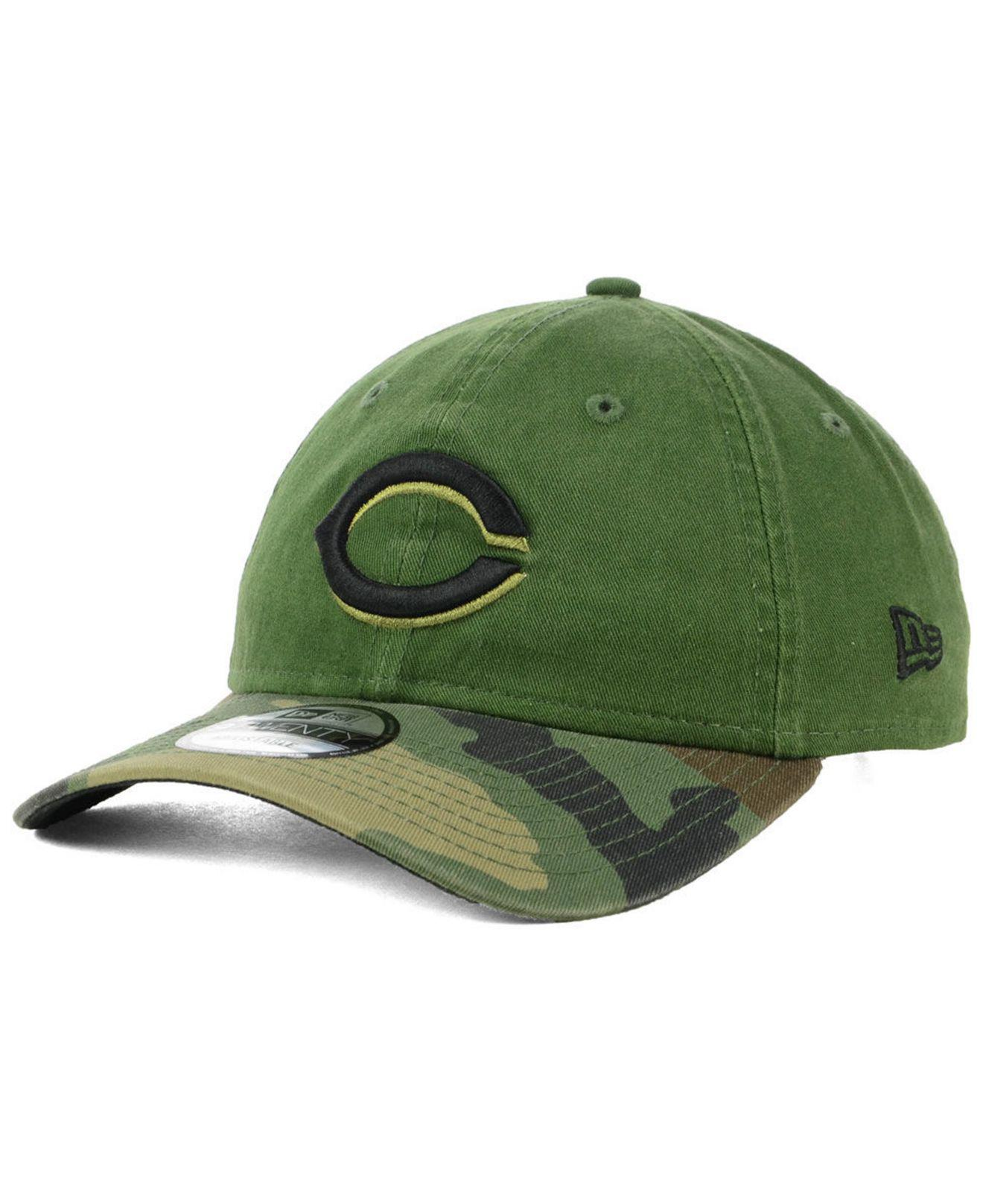 pretty nice df1d1 b6897 KTZ. Men s Green Cincinnati Reds On Field Replica 9twenty Cap