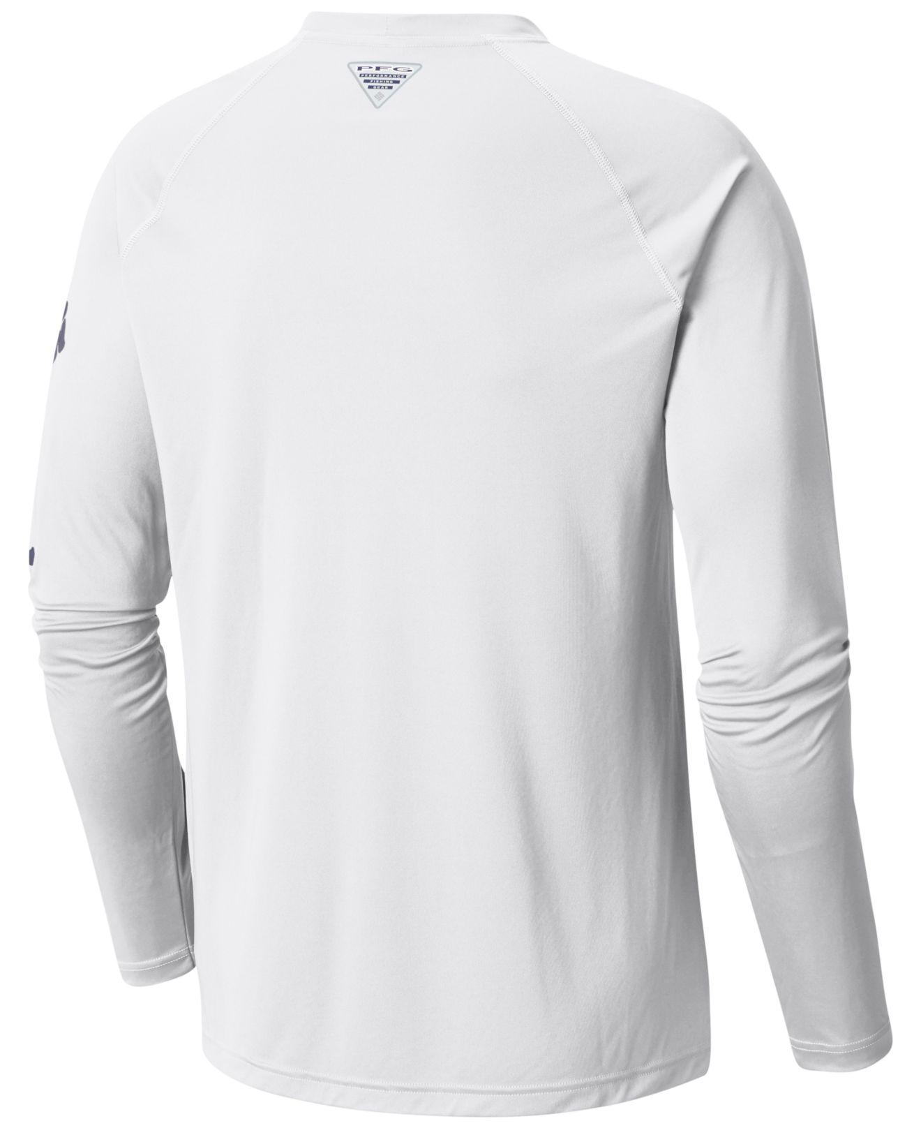 3cc5e910a86 Lyst - Columbia Terminal Tackle Ls Shirt in White for Men