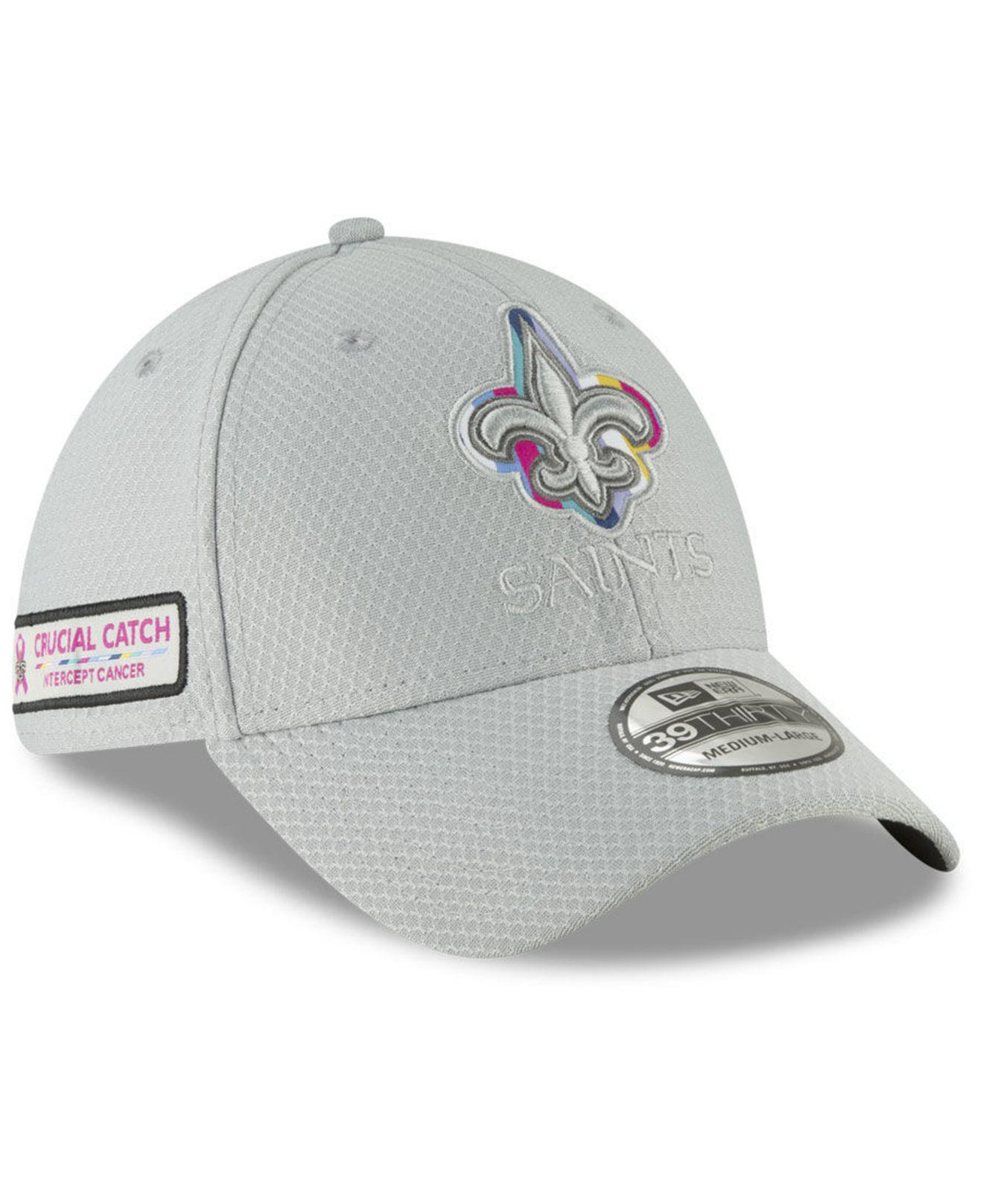 f0ca2aeba Lyst - KTZ New Orleans Saints Crucial Catch 39thirty Cap in Gray for Men