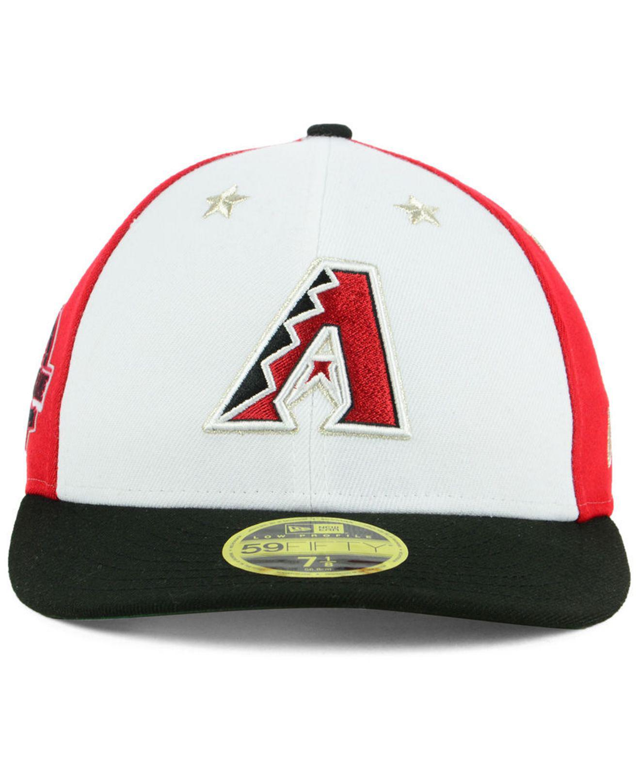 buy online 5fc64 ec8c7 Lyst - KTZ Arizona Diamondbacks All Star Game Patch Low Profile 59fifty  Fitted Cap 2018 for Men
