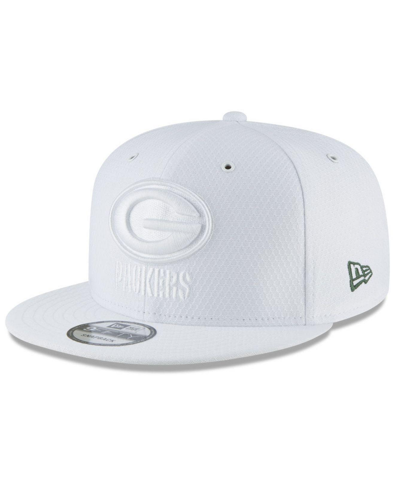 0cc9f675a Lyst - KTZ Green Bay Packers On Field Color Rush 9fifty Snapback Cap ...