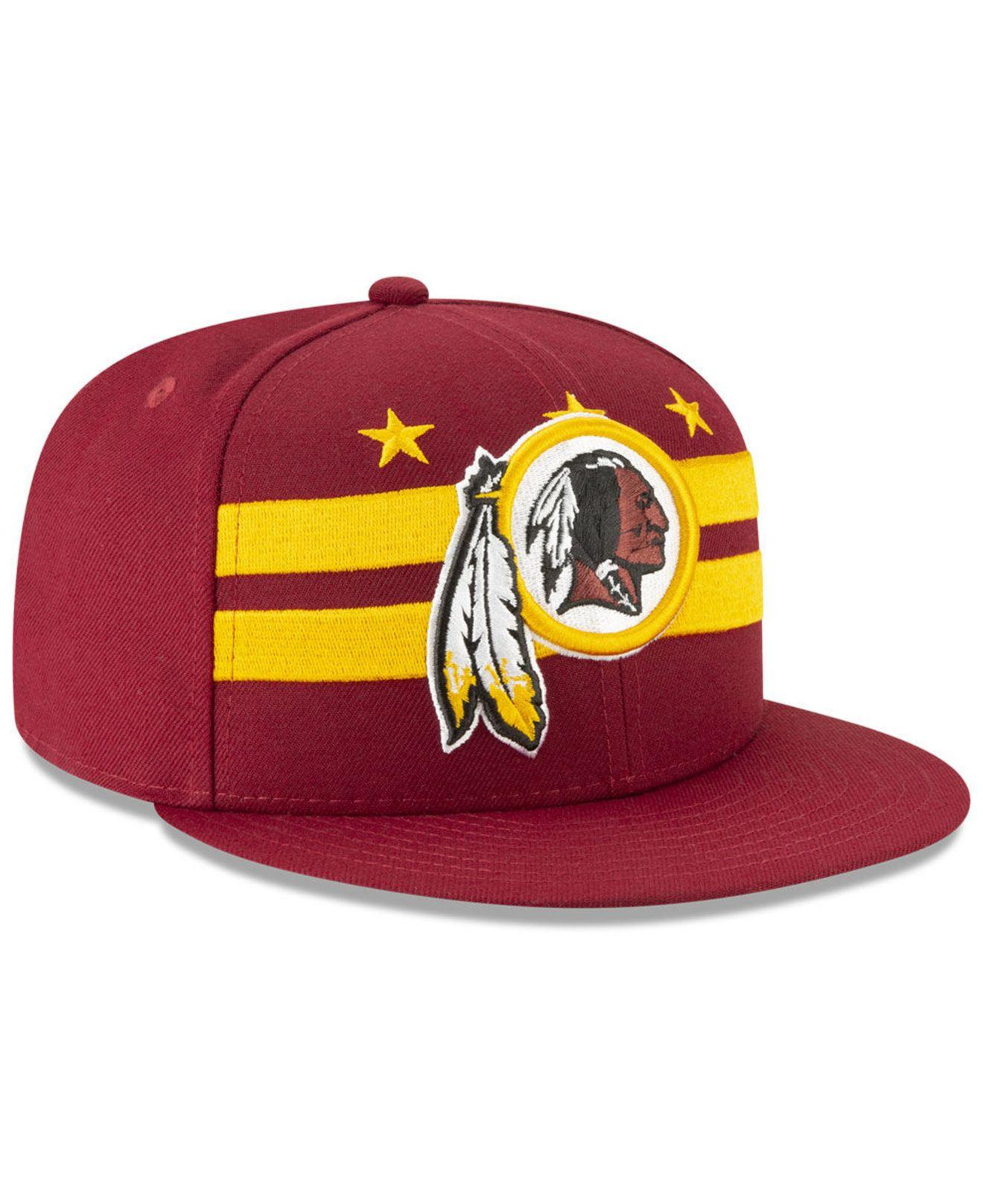 cheap for discount a4103 e38bf KTZ - Multicolor Washington Redskins 2019 Draft 59fifty Fitted Cap for Men  - Lyst. View fullscreen
