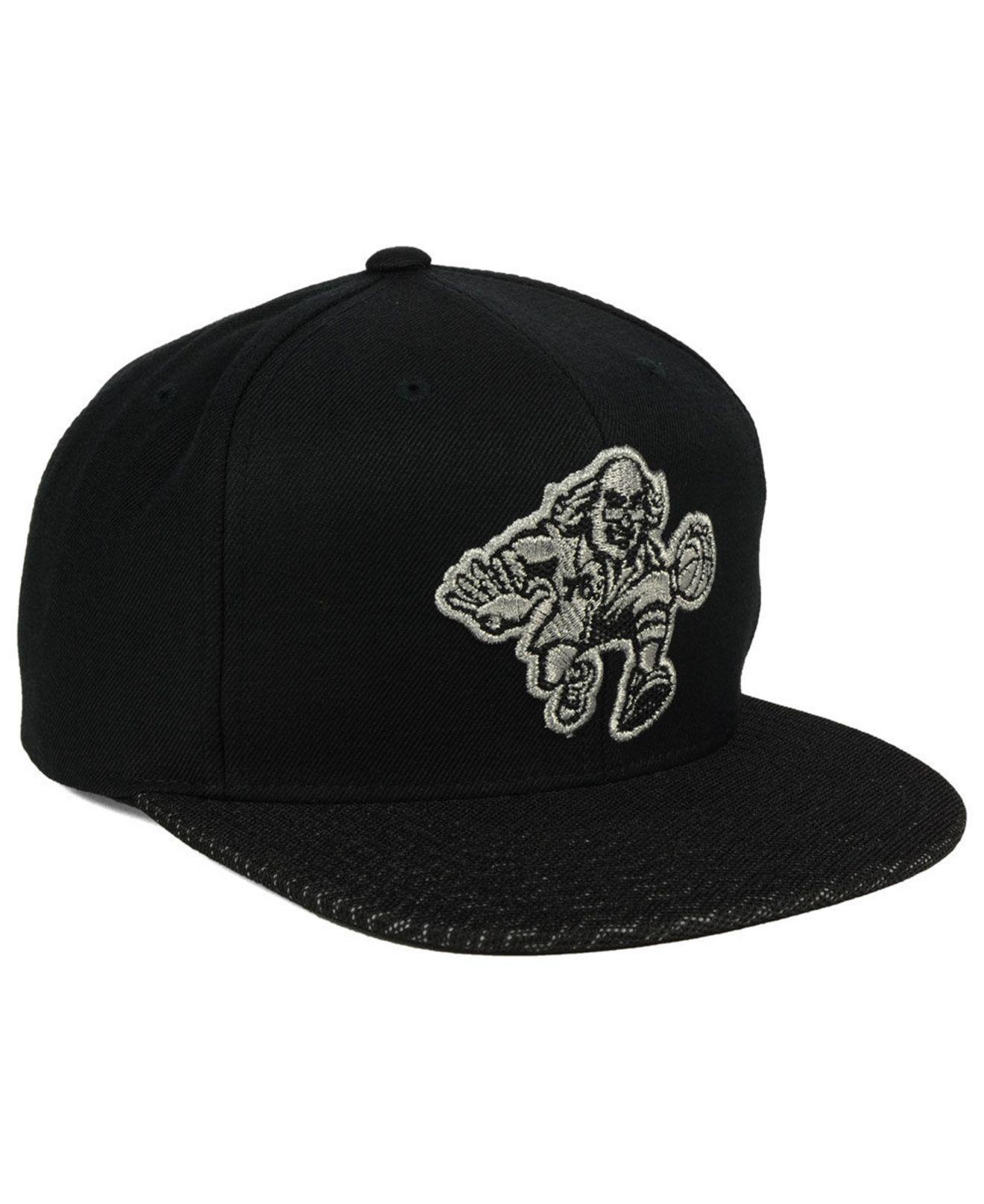 54292502f46 Lyst - Mitchell   Ness Philadelphia 76ers 3m Mesh Snapback Cap in ...
