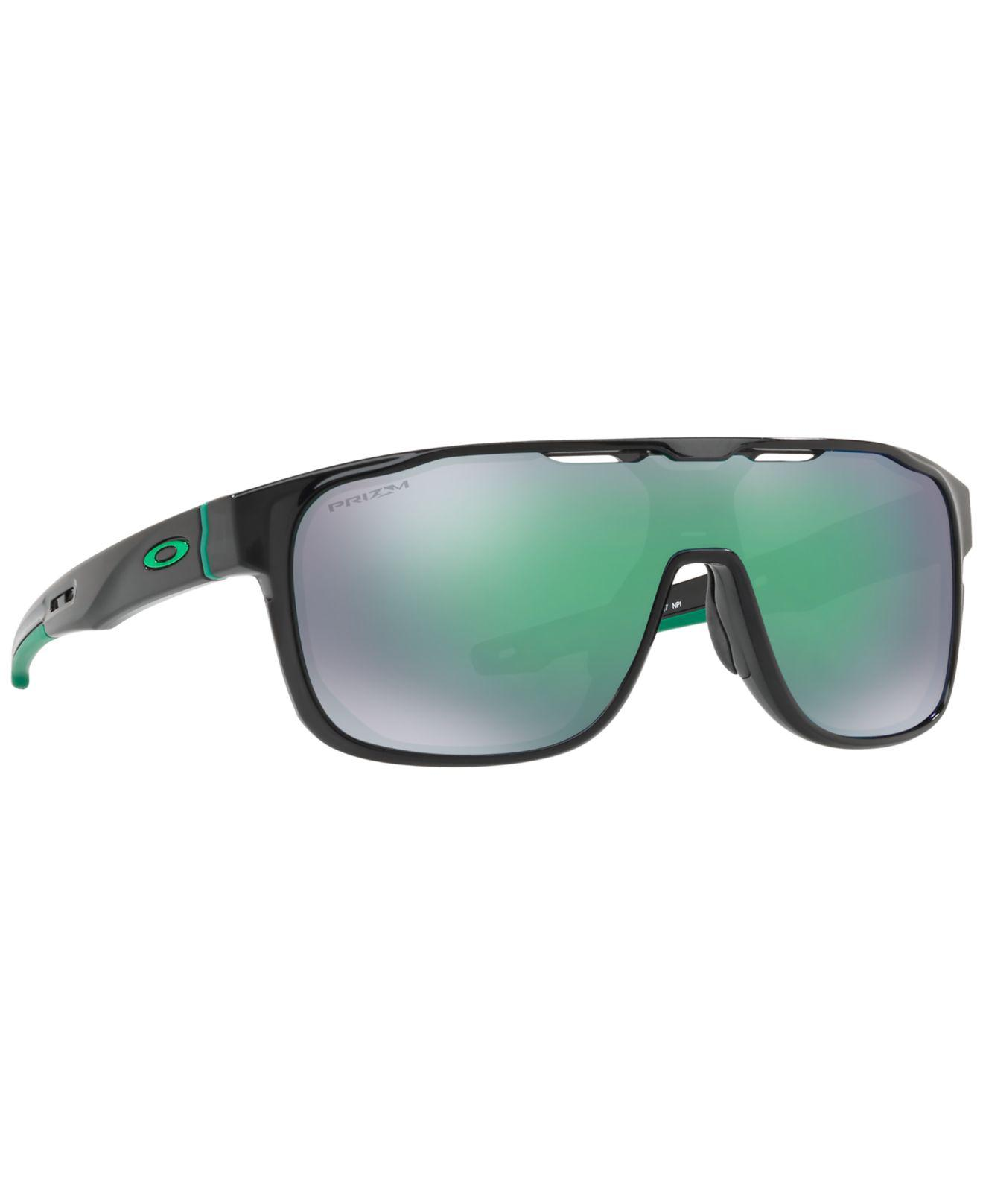 524689f236 ... low price lyst oakley crossrange shield sunglasses oo9387 in green for  men 76fc0 d865e