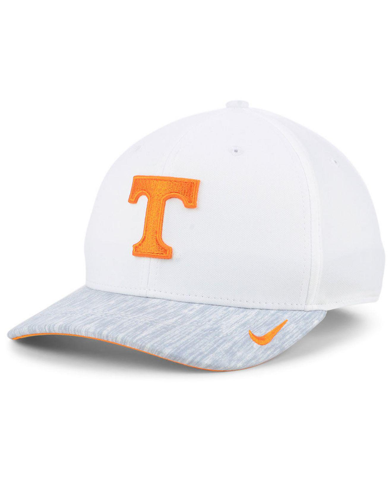 702d9be3 Lyst - Nike Tennessee Volunteers Arobill Swoosh Flex Cap in White ...