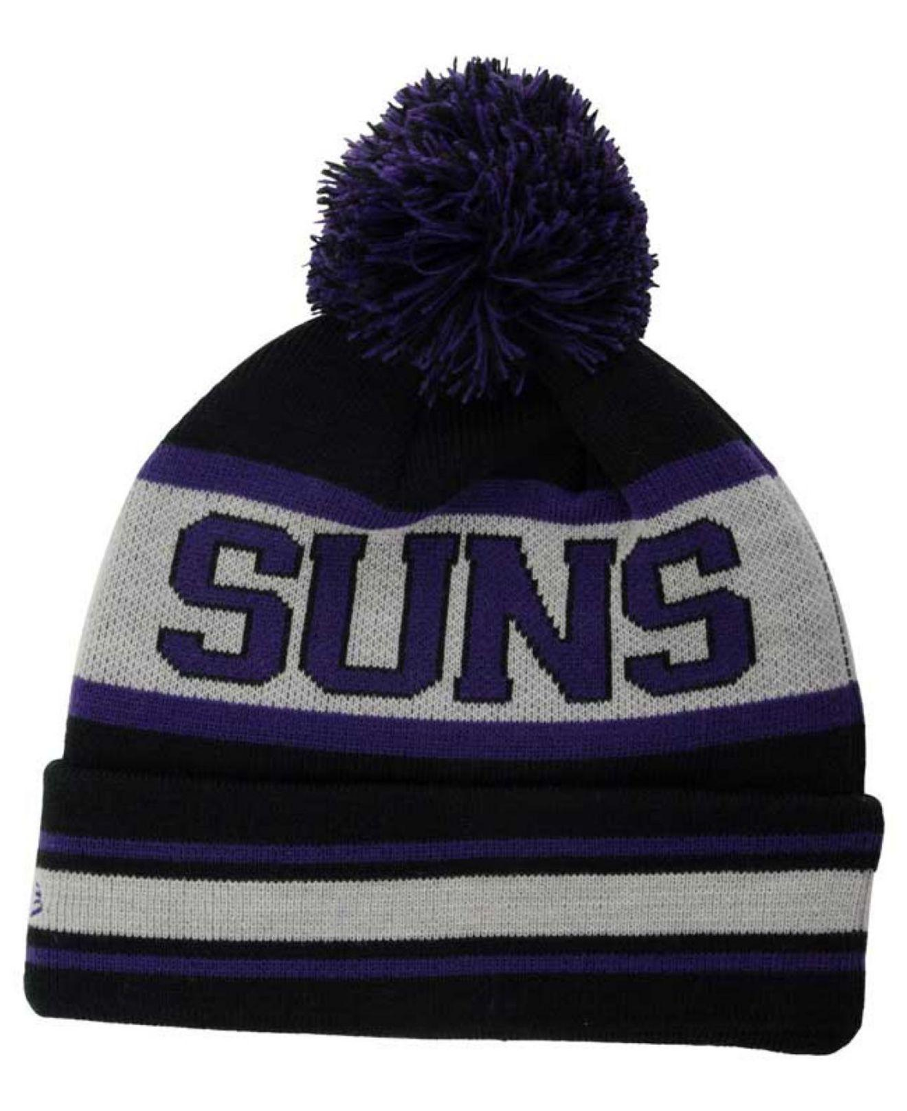 sports shoes 8d4a0 39232 ... new zealand lyst ktz phoenix suns fashion biggest fan knit hat in  purple for men a7e30
