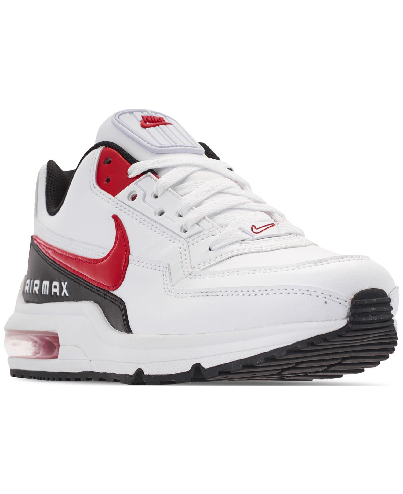 super popular c9596 ffed6 Nike Air Max Ltd 3 Running Sneakers From Finish Line in White - Lyst