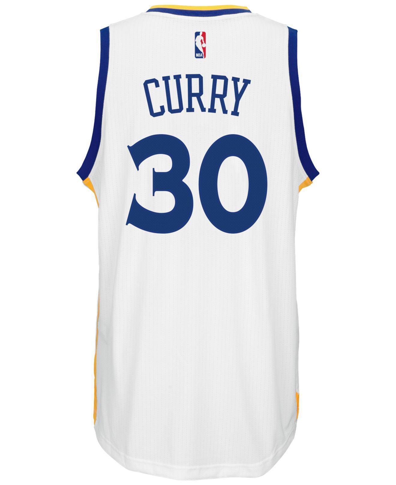 2f479cb2a78 Lyst - adidas Originals Men s Stephen Curry Golden State Warriors ...