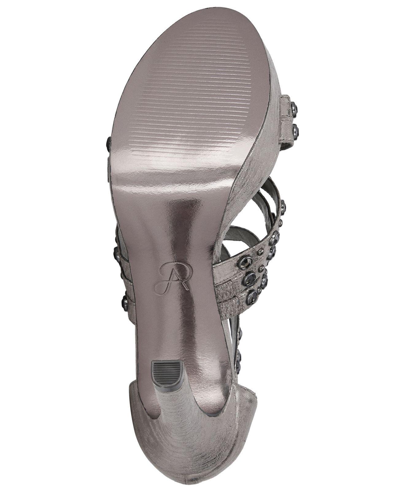 e73ba96706f2 Adrianna Papell - Multicolor Malia Platform Sandals - Lyst. View fullscreen