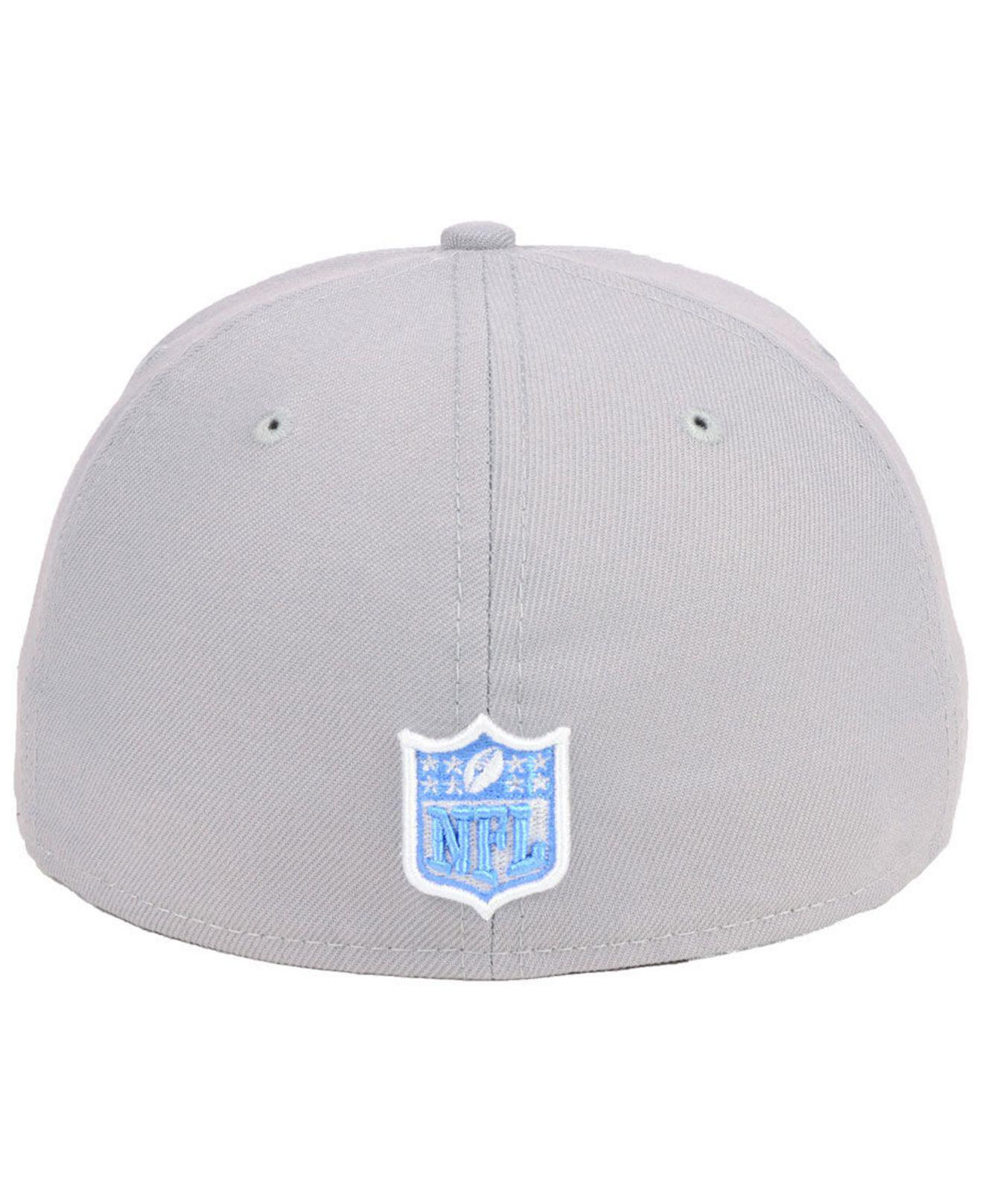new product e4820 1c588 Lyst - KTZ Tennessee Titans Team Basic 59fifty Fitted Cap in Gray for Men