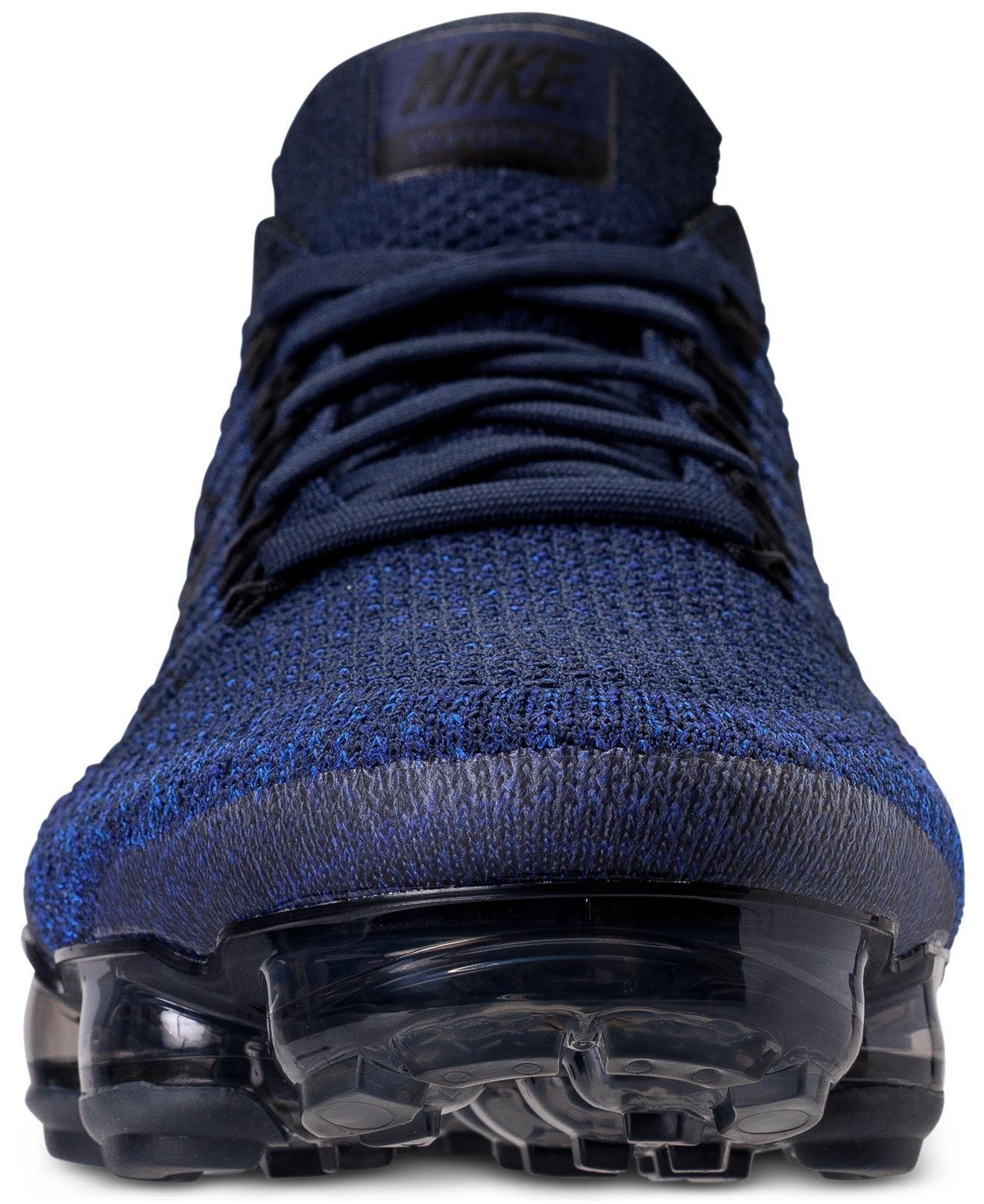 1338aef66538 Lyst - Nike Men s Air Vapormax Flyknit Running Sneakers From Finish ...