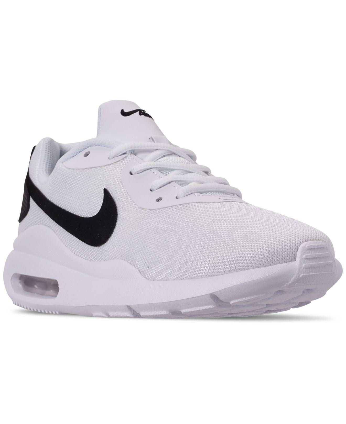 the latest e53b6 9a26d Nike. Men s White Air Max Oketo Shoe