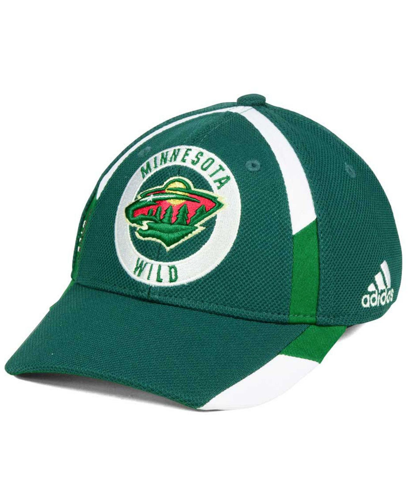 85c4f9cb7d563 Lyst - adidas Practice Jersey Hook Cap in Green for Men