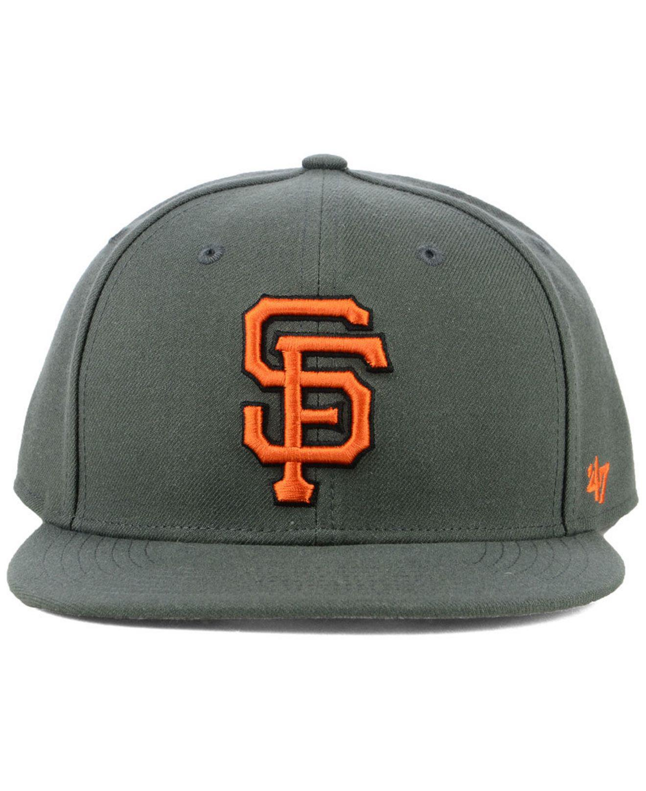 c4bbf5ea98d Lyst - 47 Brand San Francisco Giants Autumn Snapback Cap for Men