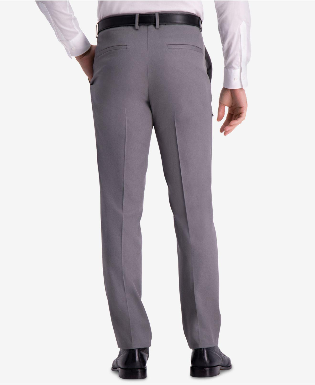 Lyst - Kenneth Cole Reaction Technicole Slim-fit Performance Tech Pocket  Dress Pants in Gray for Men 034e8ed1f