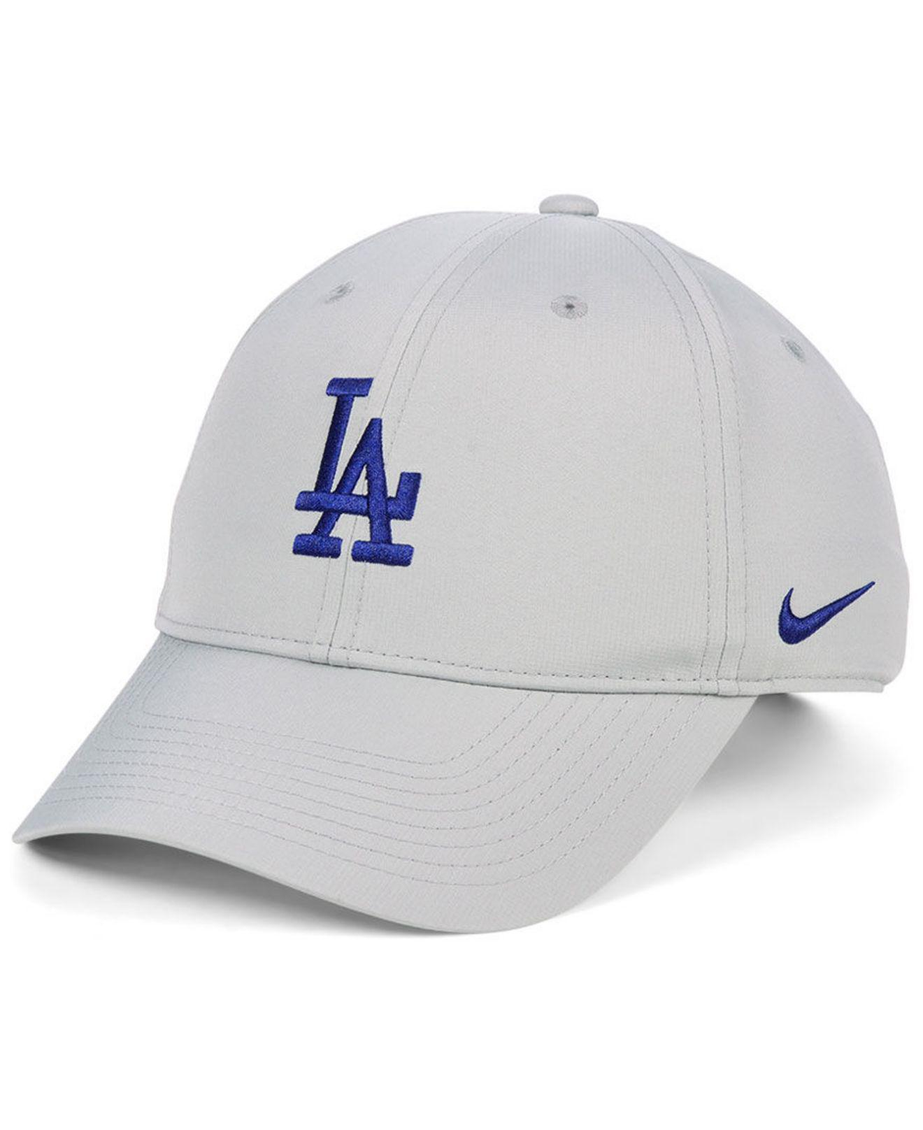 low priced 18cc2 849d1 ... Los Angeles Dodgers Legacy Performance Cap for Men - Lyst. View  fullscreen